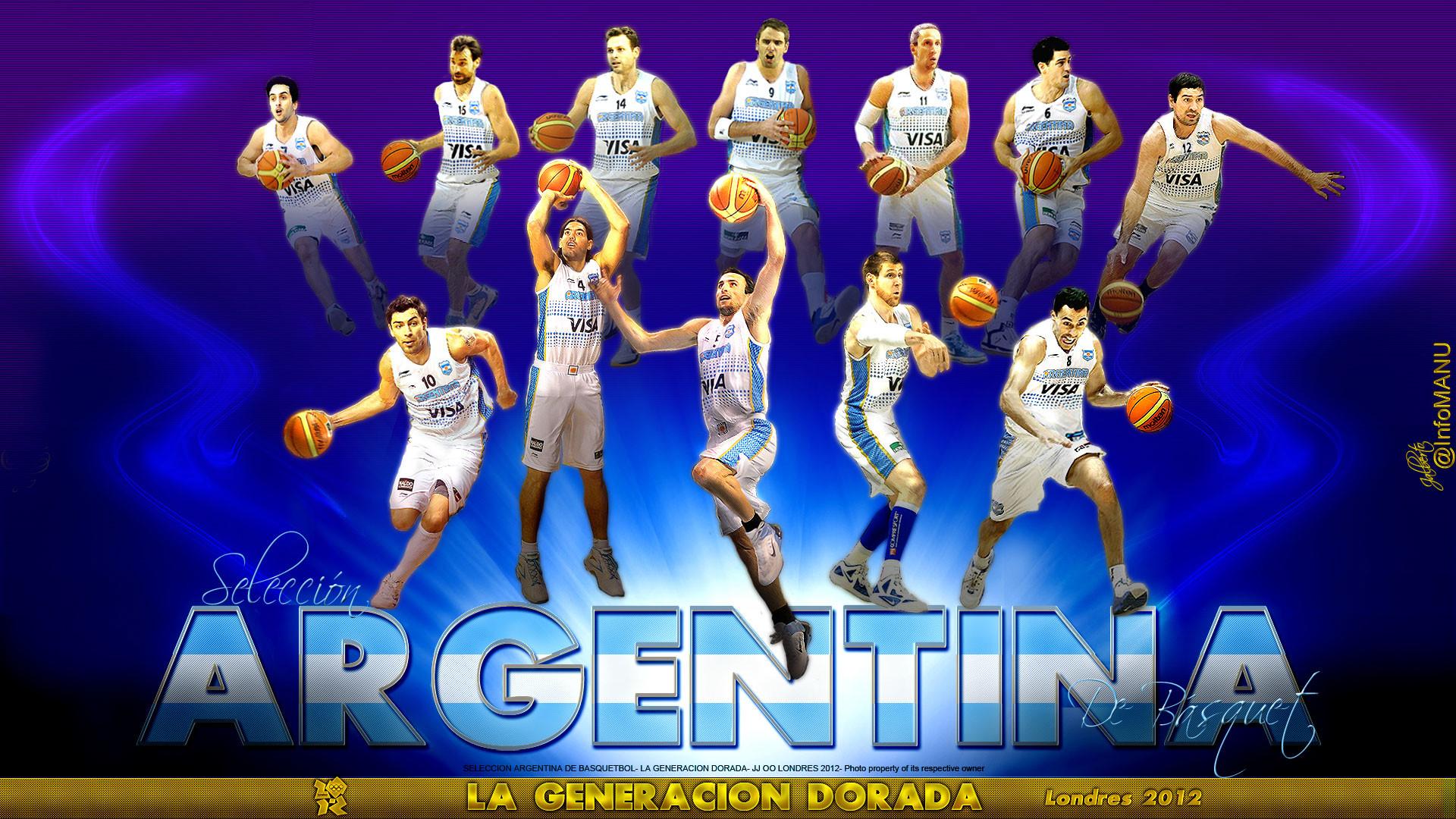 Res: 1920x1080, Argentina Basketball Team London 2012 1920×1080 Wallpaper