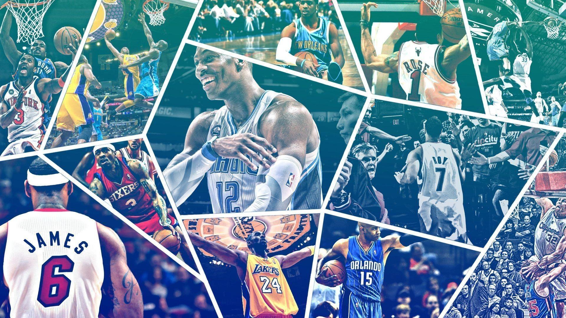 Res: 1920x1080,   teams, sports, players, nba, ball, basketball Wallpapers  .