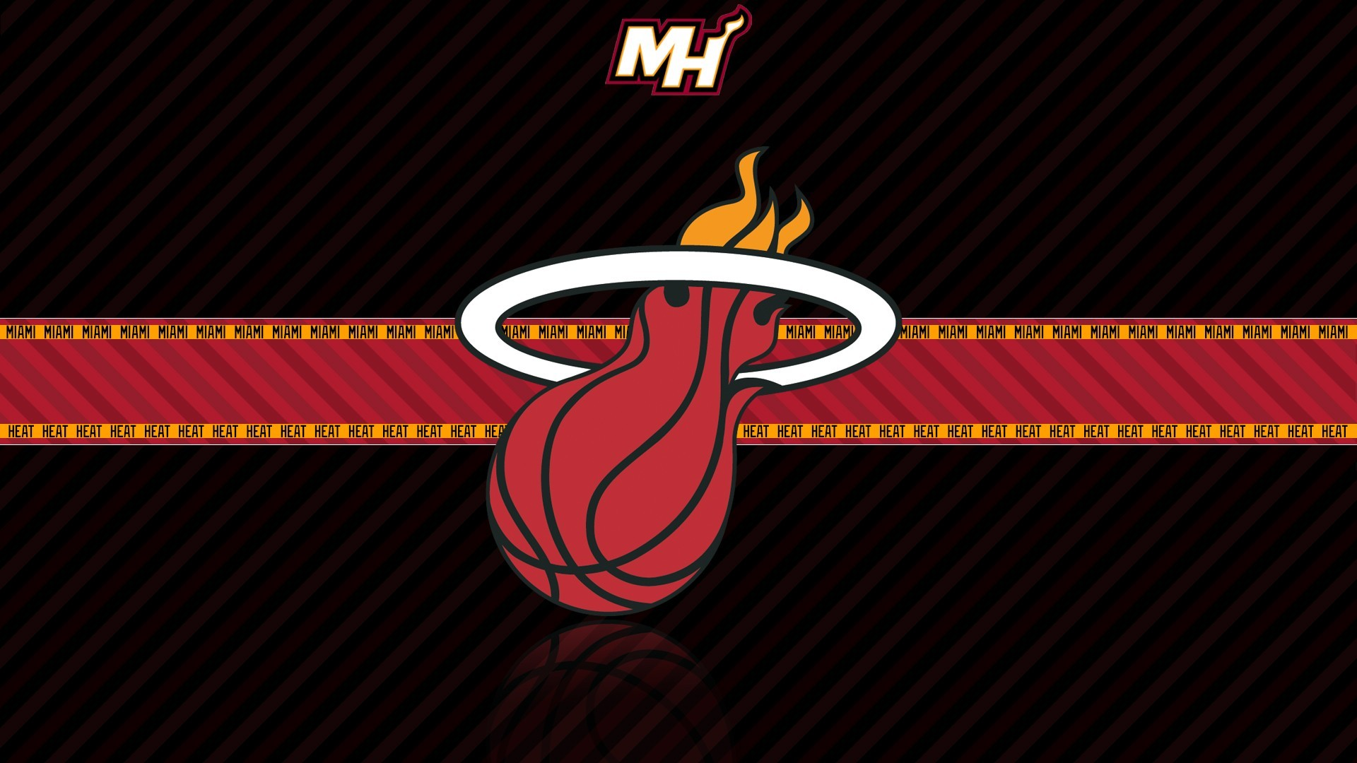 Res: 1920x1080, Desktop Download Logo Miami Heat Wallpapers.