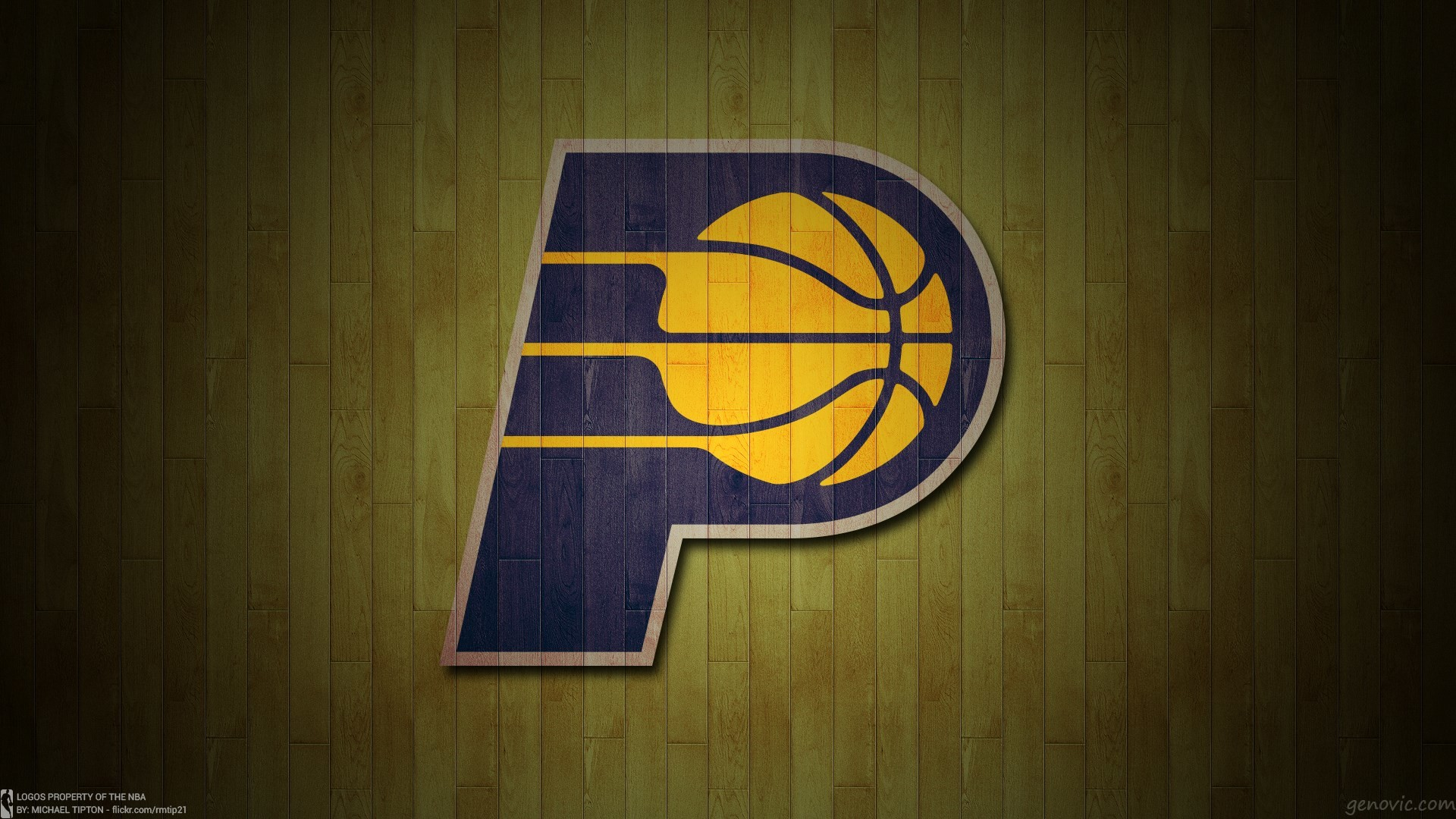 Res: 1920x1080, Indiana Pacers Basketball Team Logo Wallpapers HD / Desktop and Mobile  Backgrounds