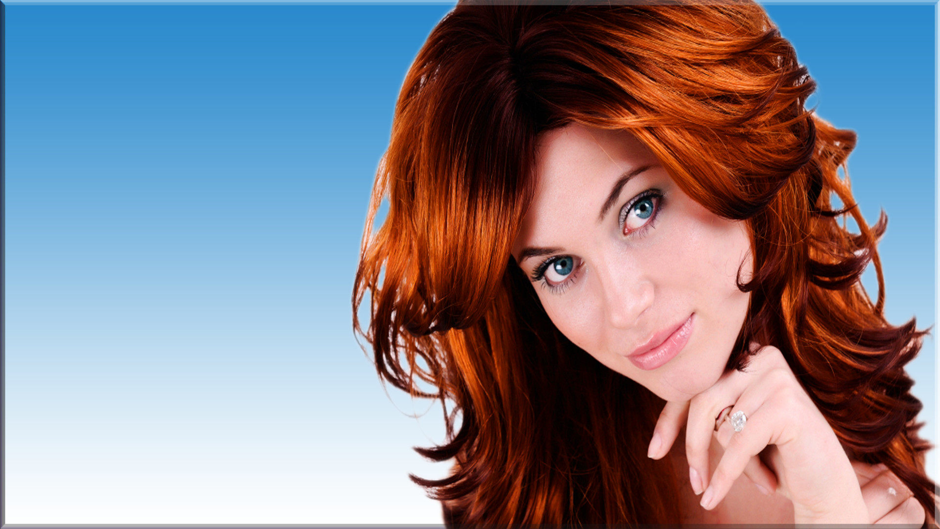 Res: 1920x1080, Women - Model Redhead Woman Wallpaper