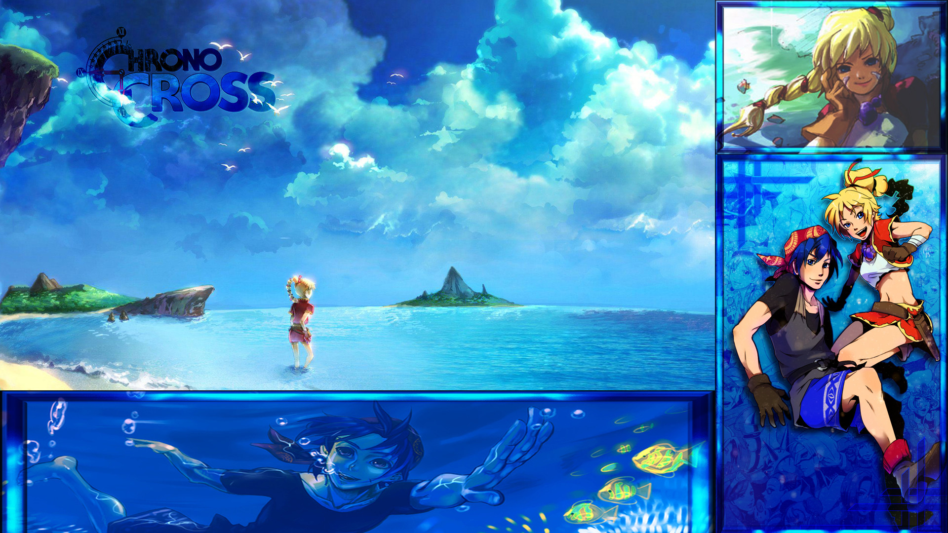 Res: 1920x1080, ... Chrono Cross Streaming Layout by Ed-Productions