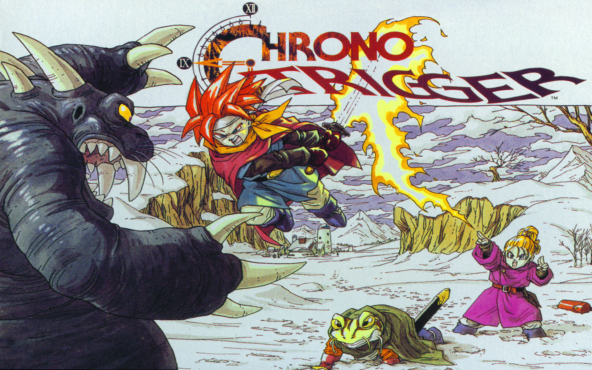 Res: 1920x1200, Chrono Trigger's 20th birthday has this must-play role-playing game looking  timeless | GamesBeat