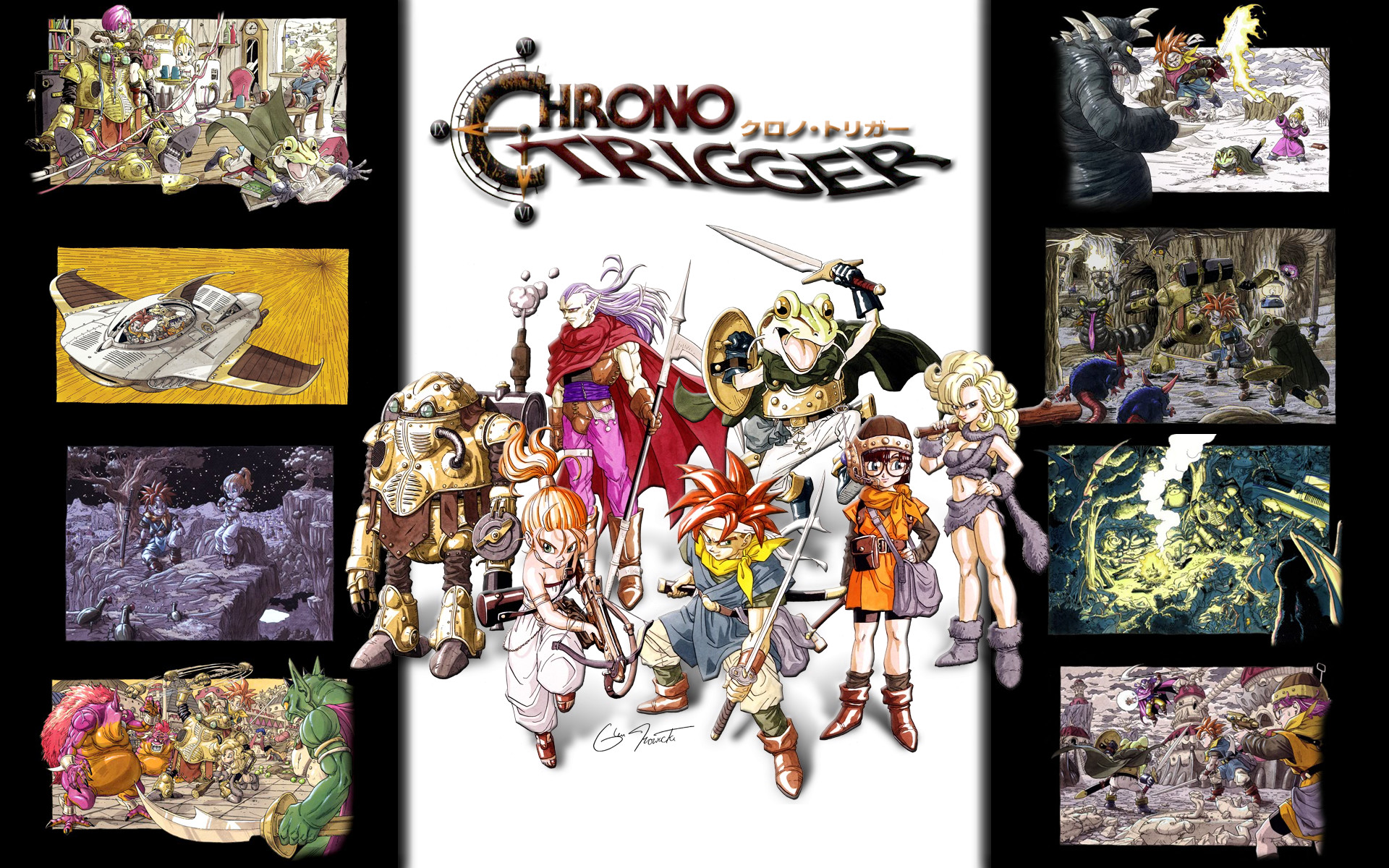 Res: 1920x1200, Chrono Trigger HD Wallpapers 6 - 1920 X 1200
