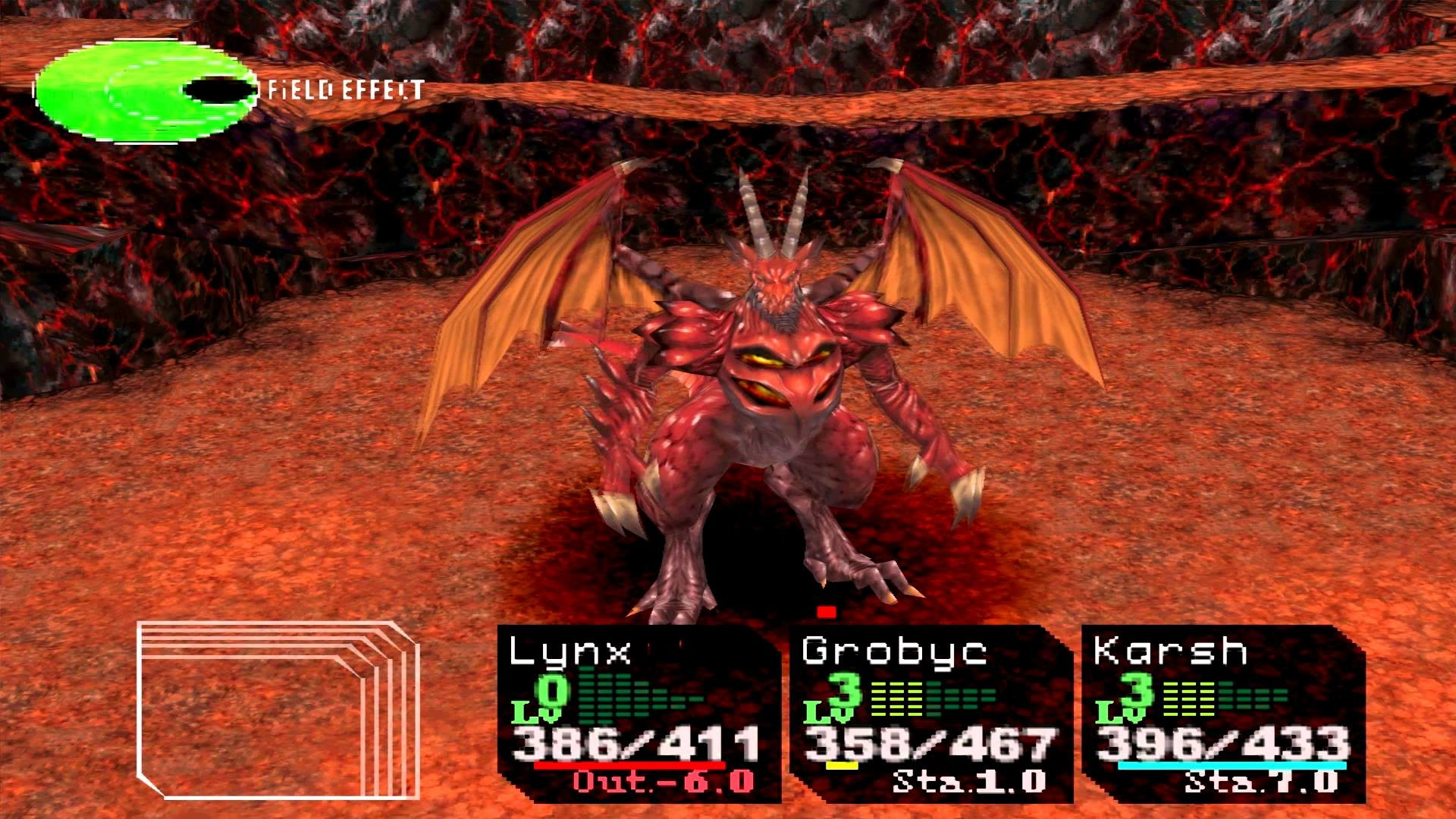 Res: 1920x1080, Chrono Cross Boss Fire Dragon