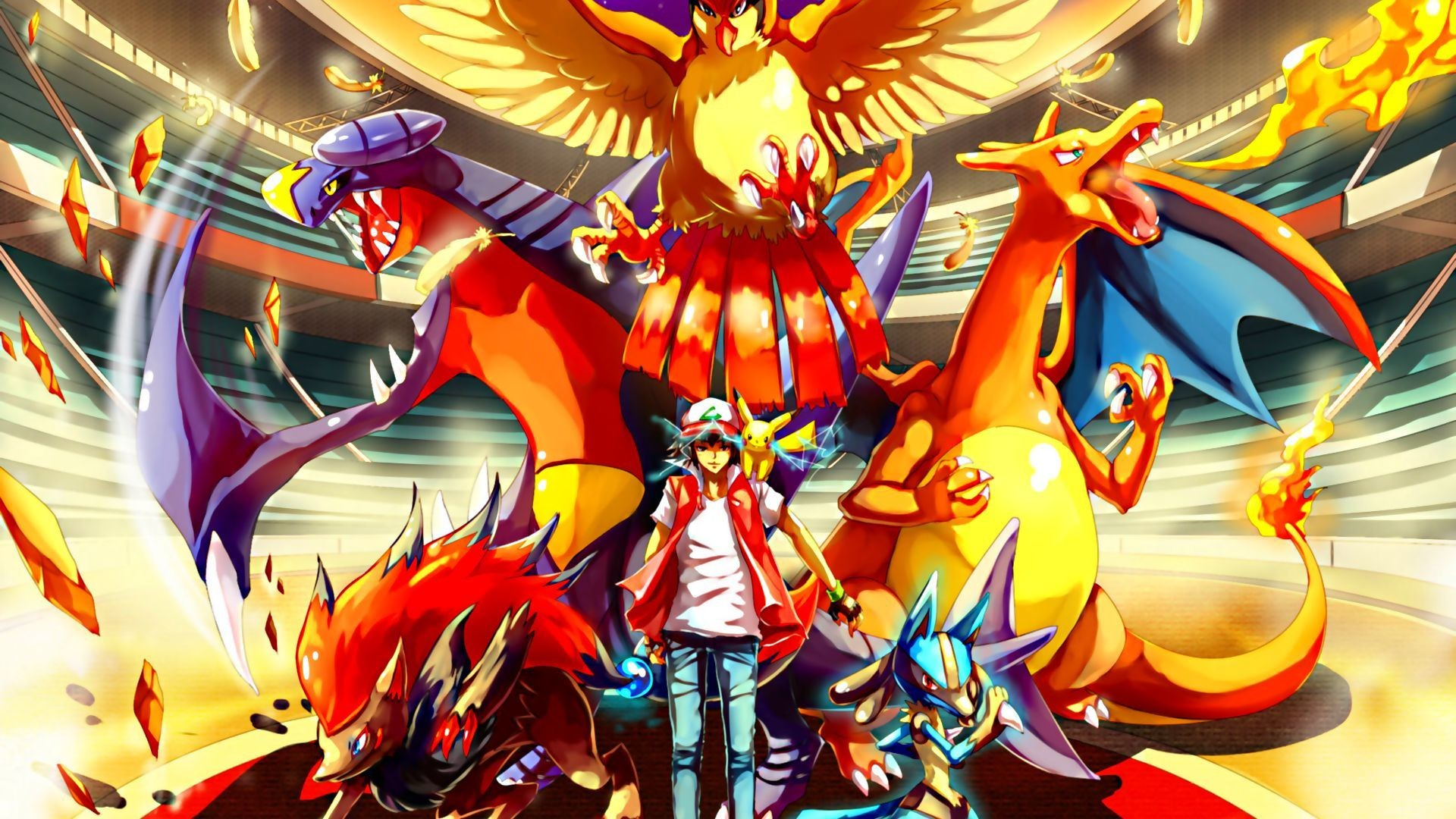 Res: 1920x1080, Pokemon HD Full HD Quality Wallpapers -  for PC & Mac, Tablet,  Laptop, Mobile