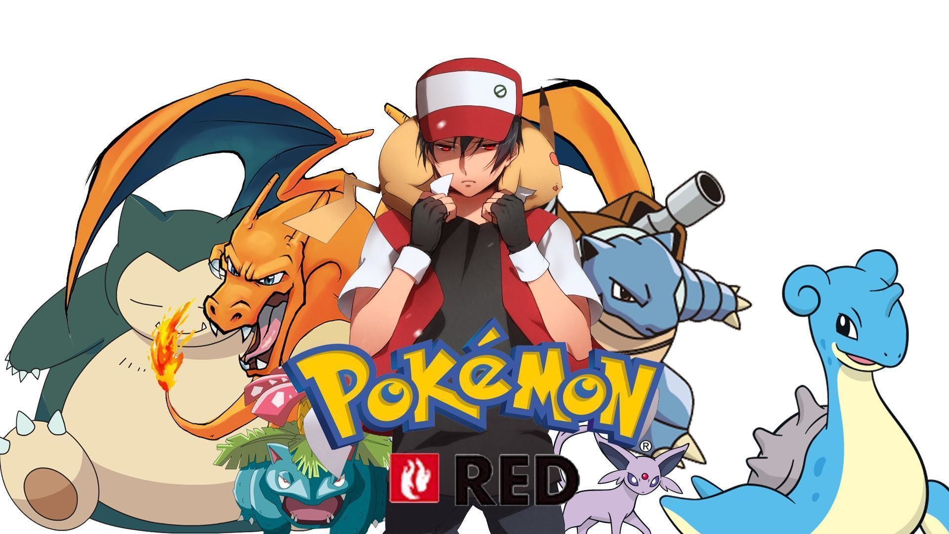 Res: 1920x1080, Pokemon Red Wallpaper by Roxxas21 on DeviantArt