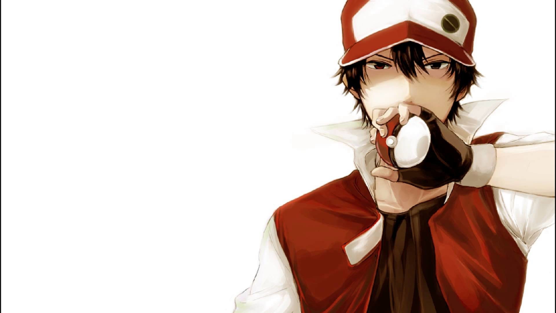 Res: 1920x1080, Images For > Pokemon Trainer Red Wallpaper
