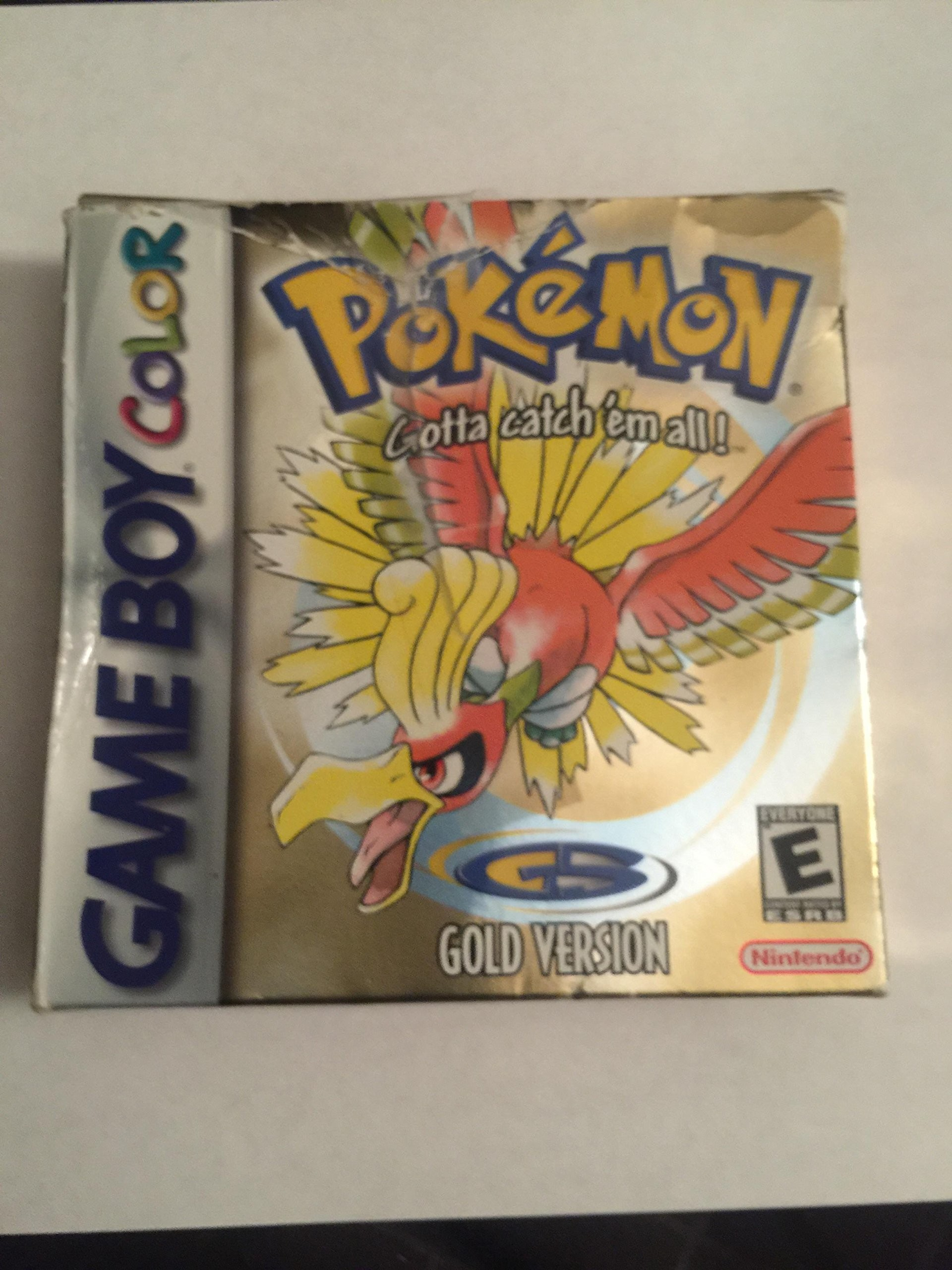Res: 1920x2560, Pokemon Gold Version Game [Game Boy Color]