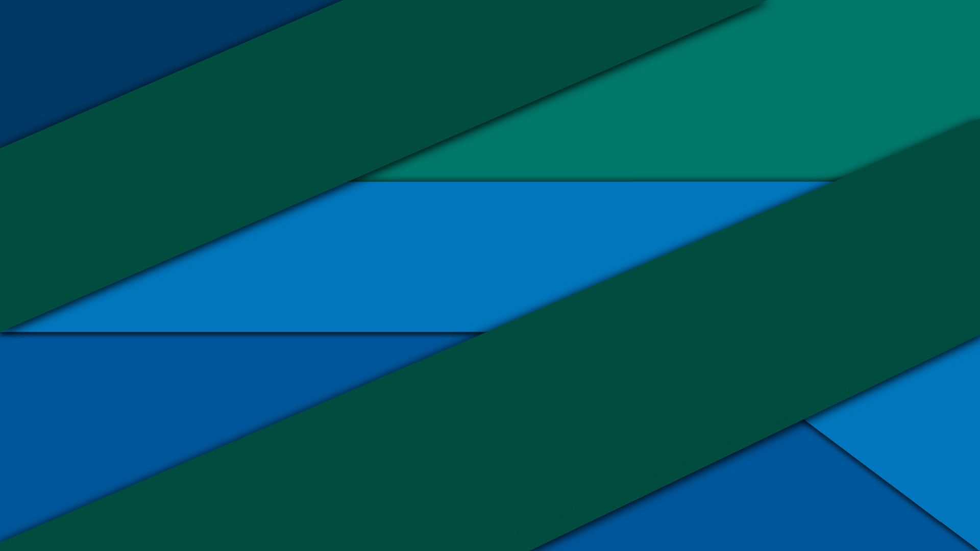 Res: 1920x1080, Blue and Green Material Design Wallpaper