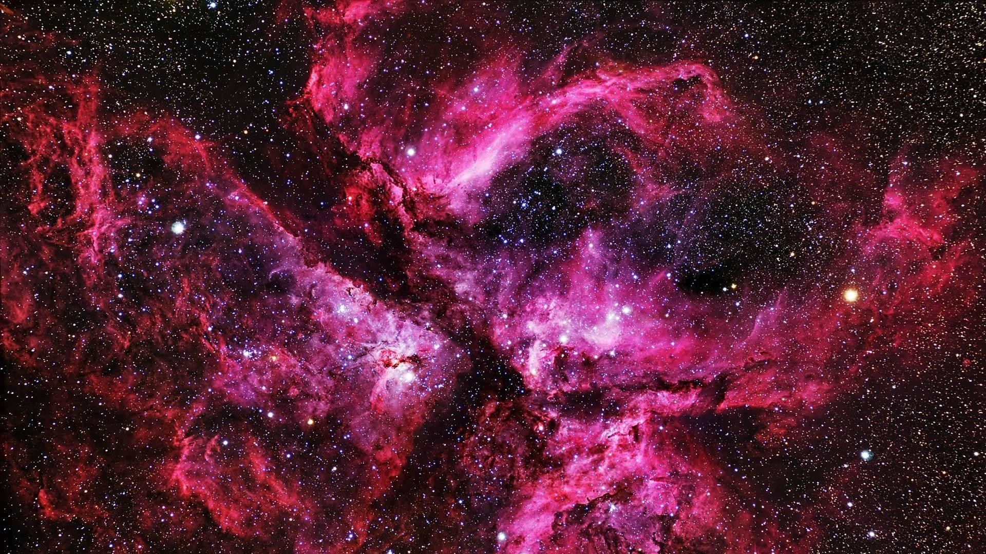 Res: 1920x1080, Pink Galaxy Wallpaper | Wallpaper Studio 10 | Tens of thousands HD and  UltraHD wallpapers for Android, Windows and Xbox