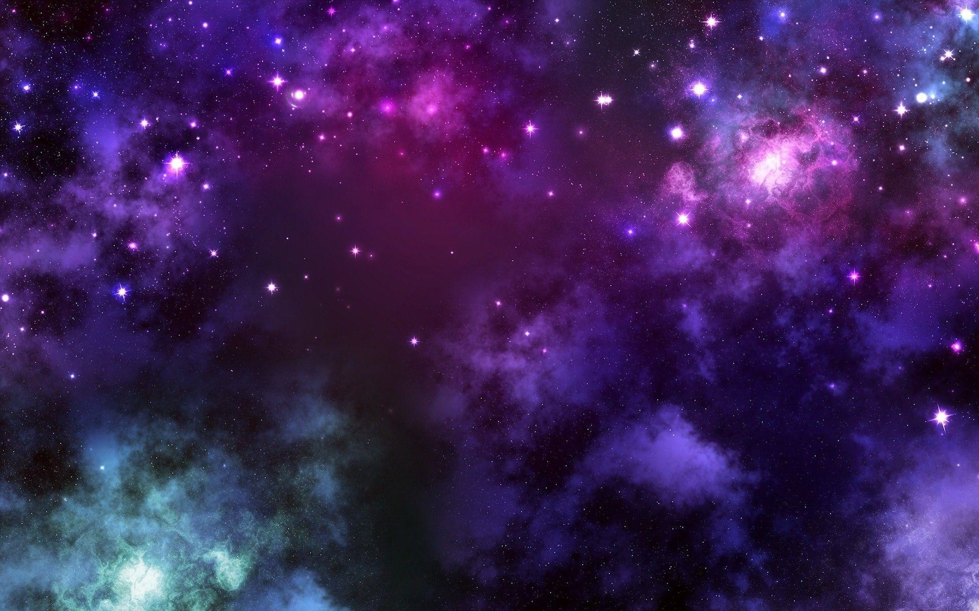 Res: 1920x1200, Pink Purple Galaxy | Free HD Wallpapers | Widescreen HD Wallpapers