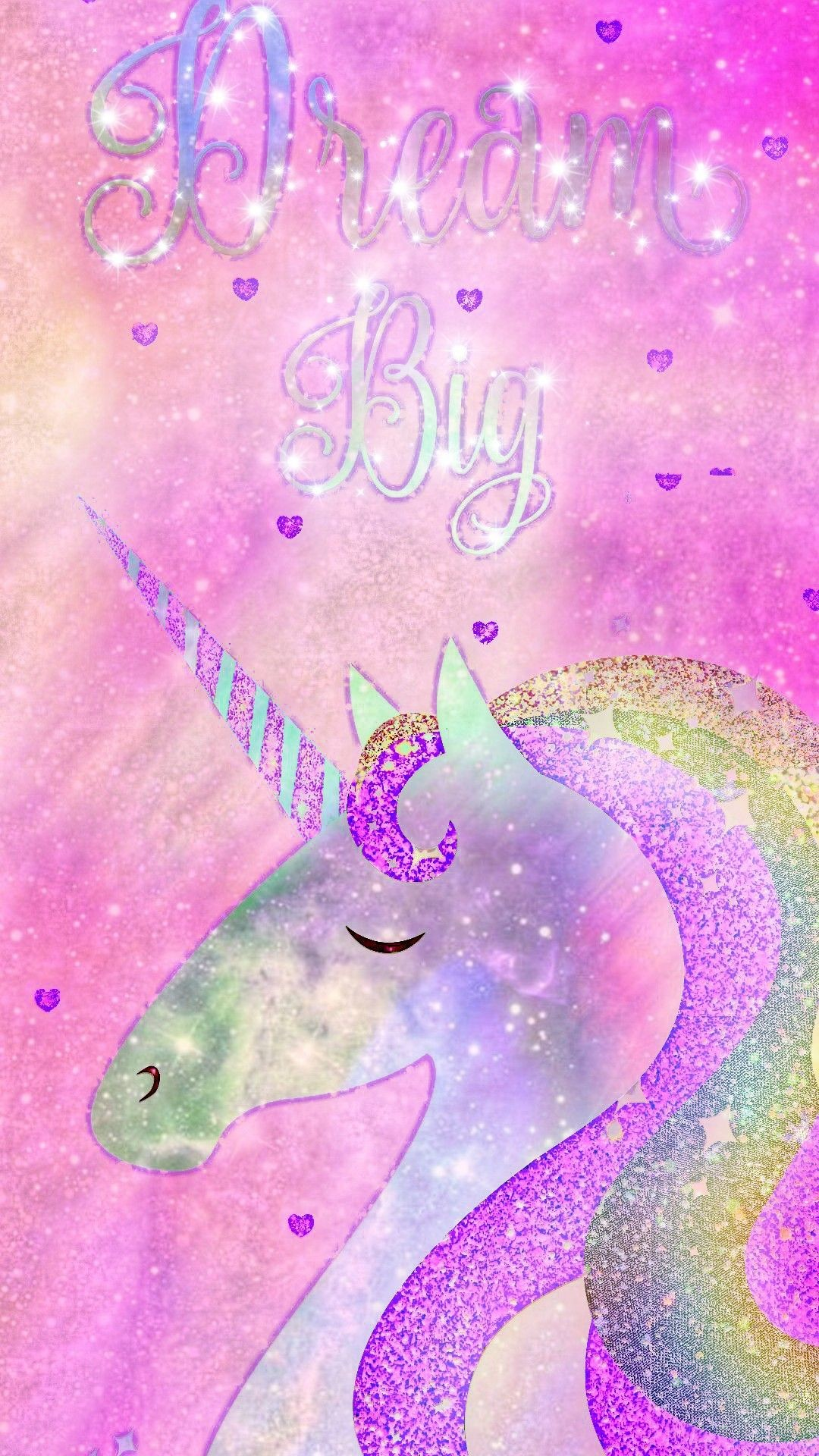 Res: 1080x1920, Dream Big Unicorn, made by me #pastel #kawaii #fantasy #unicorn #