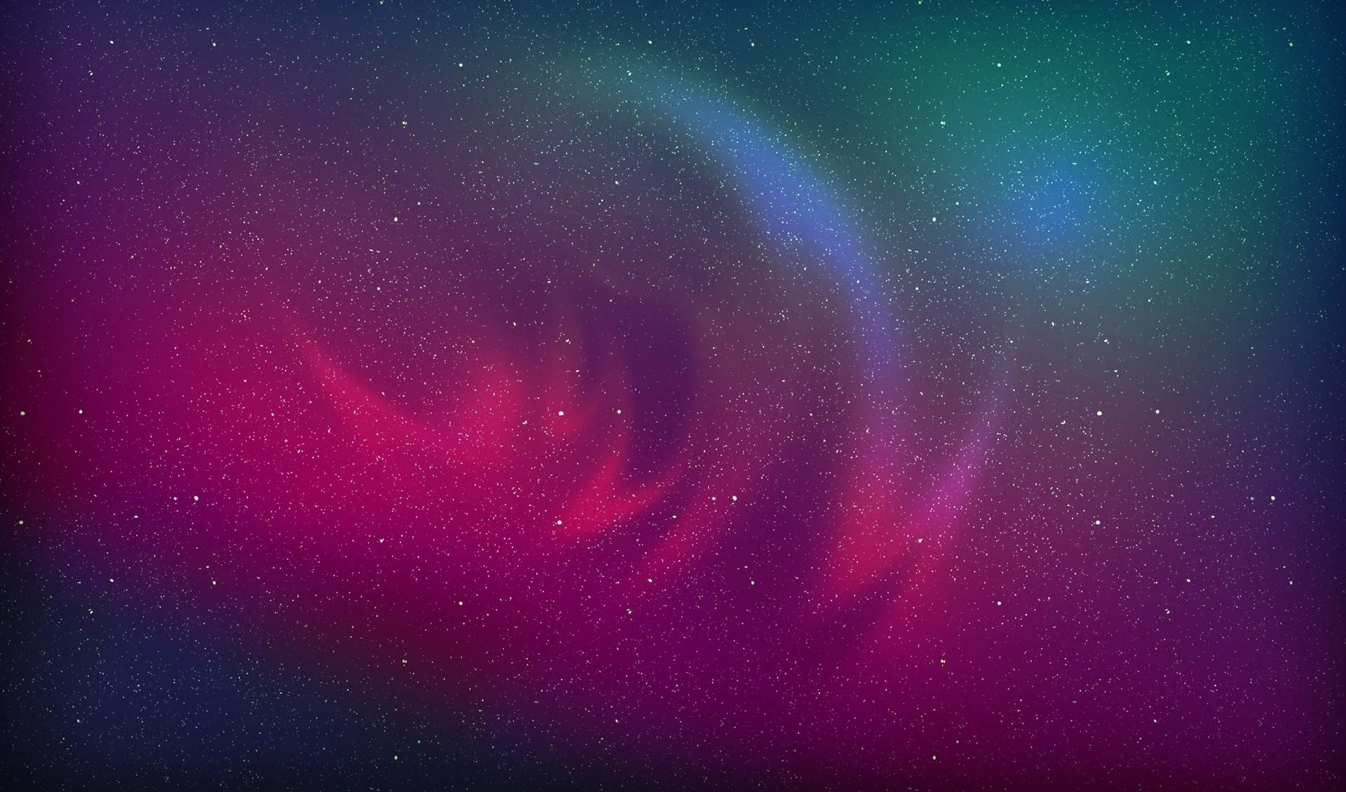 Res: 1920x1130, Pink blurry nebula in the blue galaxy HD wallpapers