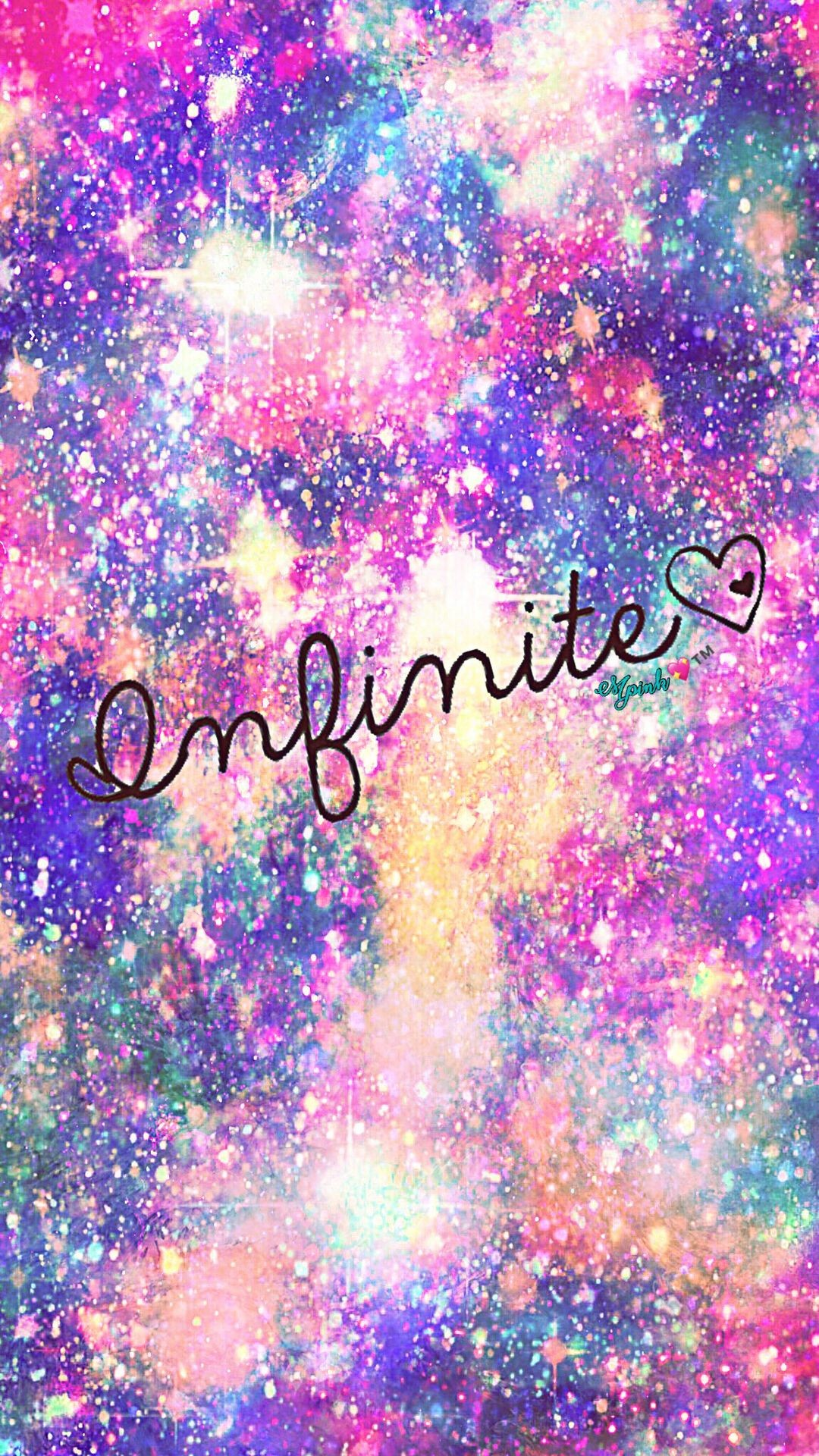 Res: 1080x1920, Infinite Galaxy Wallpaper #androidwallpaper #iphonewallpaper #wallpaper # galaxy #sparkle #glitter #