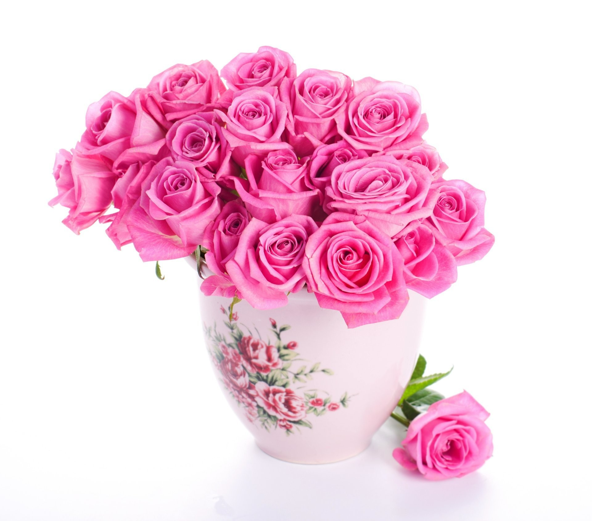 Res: 1920x1688, Download Beautiful Pink Rose Flower Images Hd Widescreen Roses Flowers  Bouquet Vase For Androids