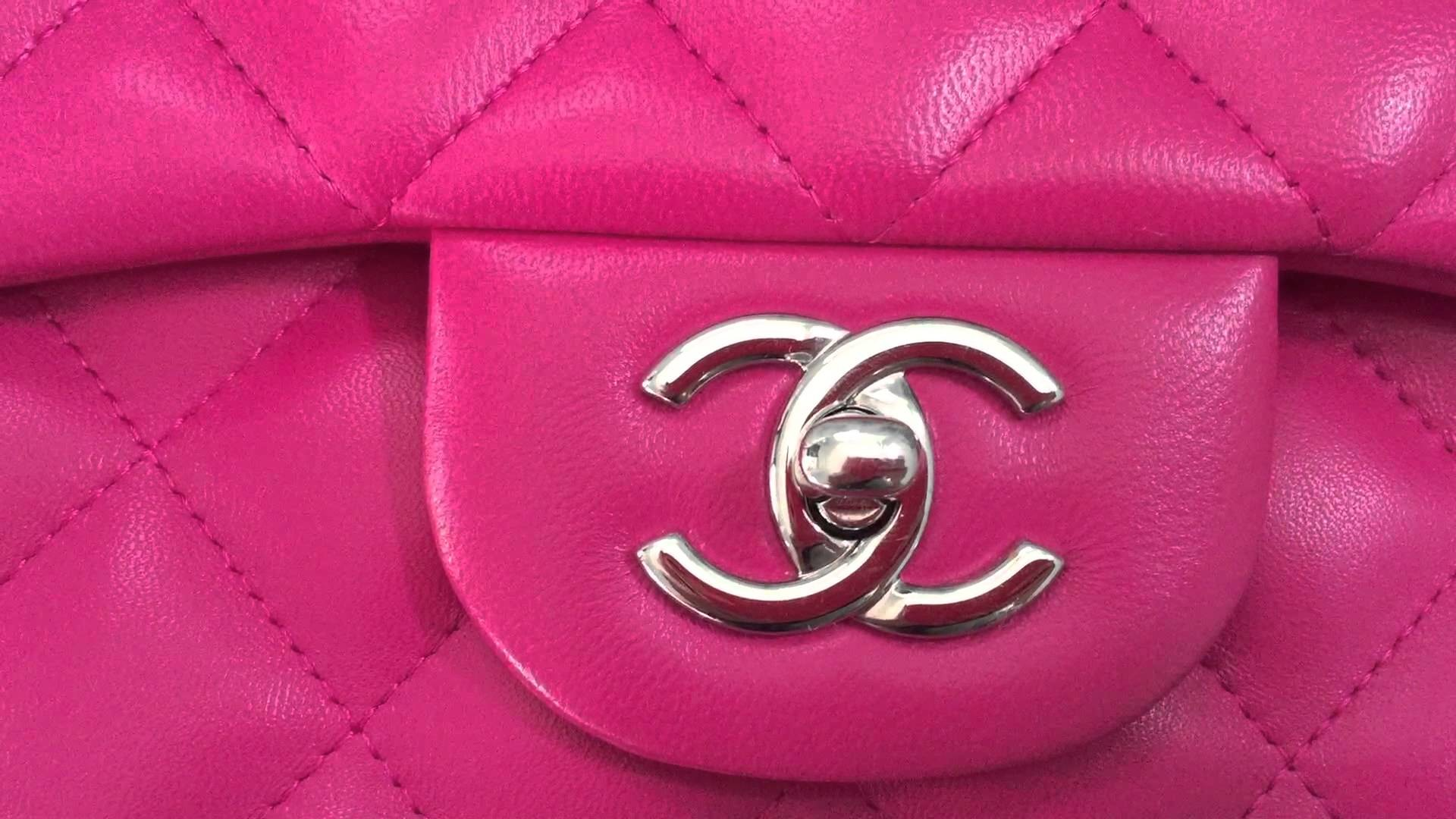 Res: 1920x1080, Chanel pink lambskin jumbo double flap [SOLD]