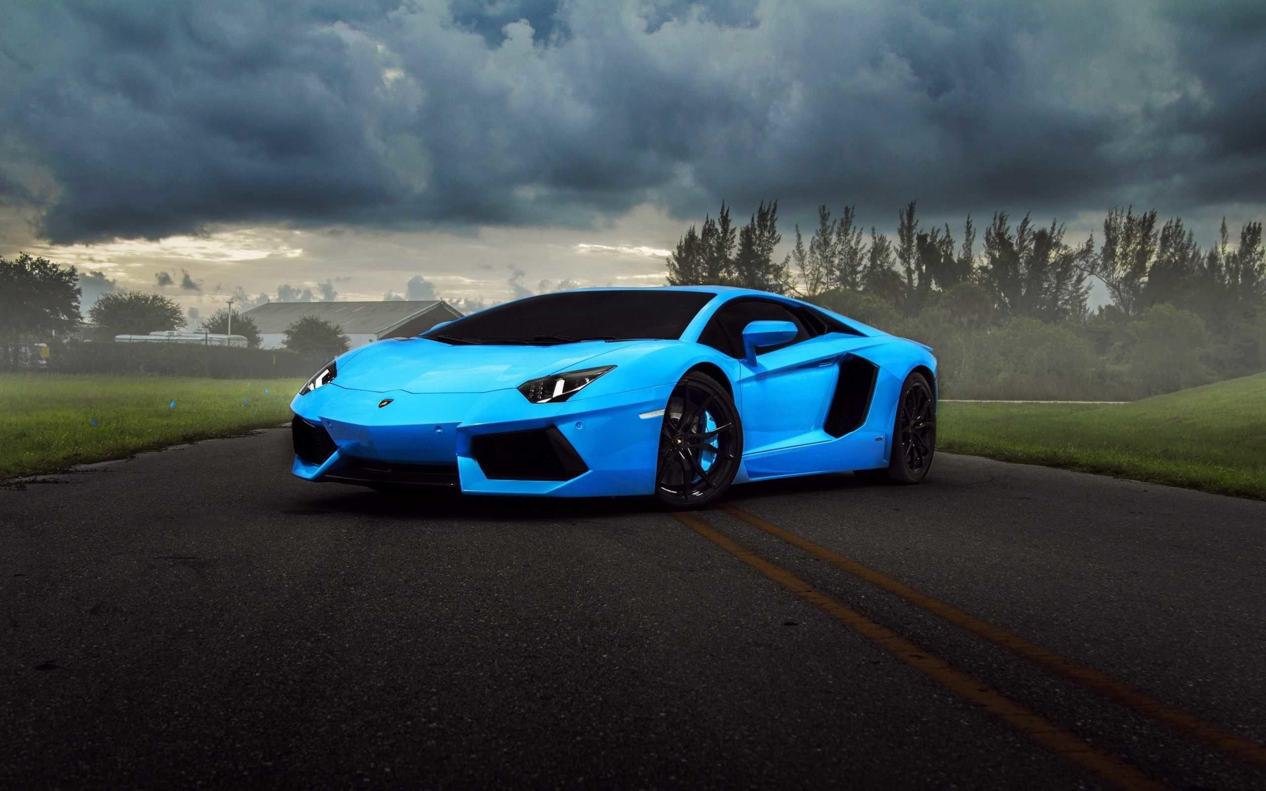 Res: 2560x1600, Car Wallpaper Hd Goldan Pics Of Pc Blue Lamborghini Vehicles