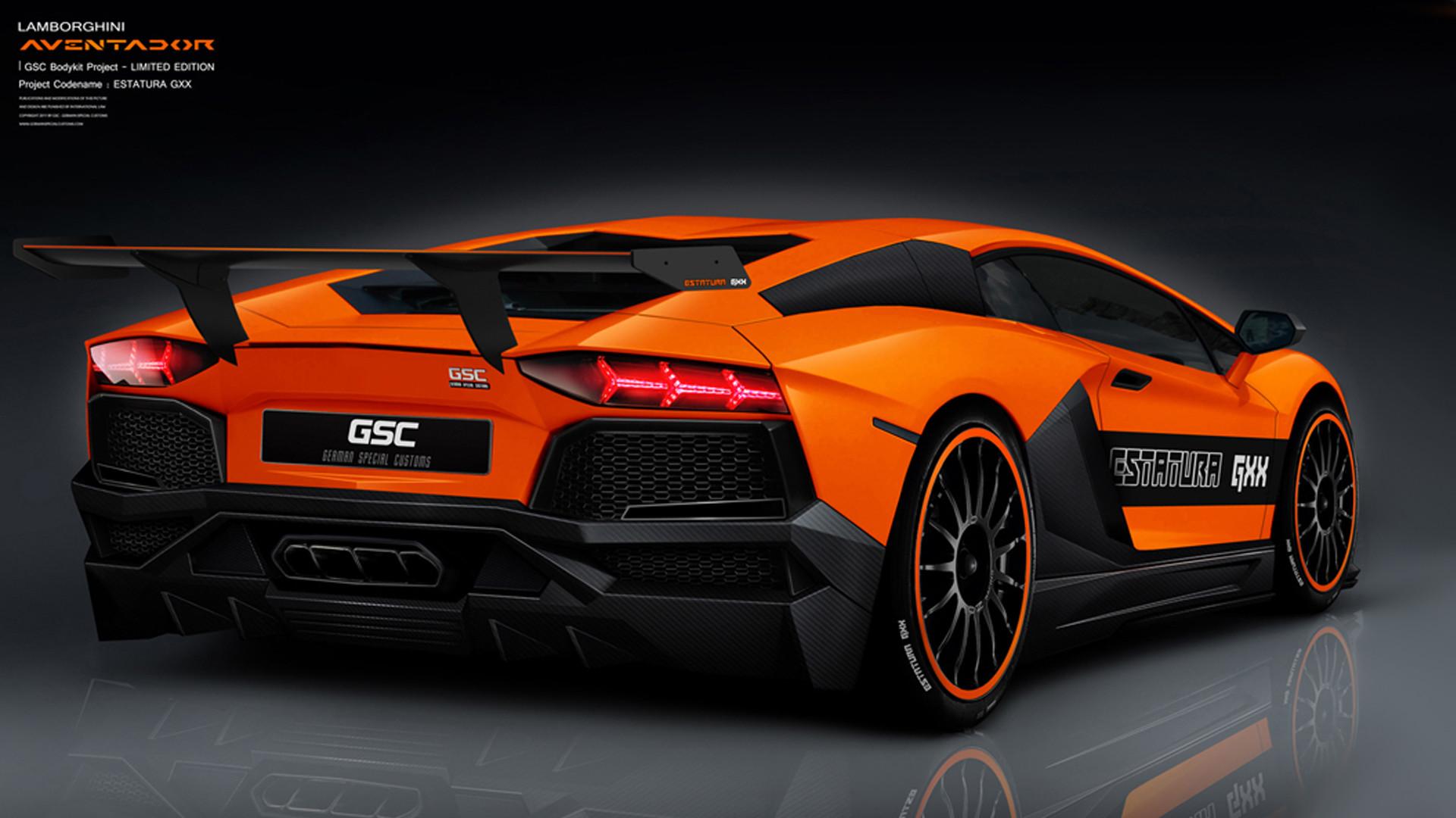 Res: 1920x1080, Cool Lamborghini Aventador Wallpapers. Download · Best Lamborghini  Aventador Estatura Orange Rea Wallpaper · Download