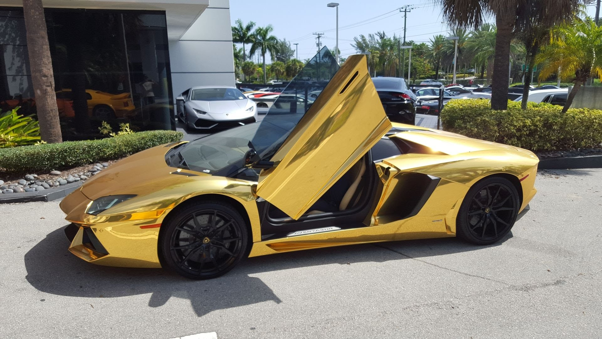 Res: 1920x1080, Download Original Size. ,. Lamborghini Veneno Gold Edition HD desktop  wallpaper Widescreen ...