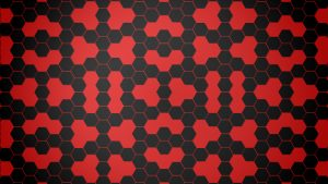 Red Hexagon wallpapers