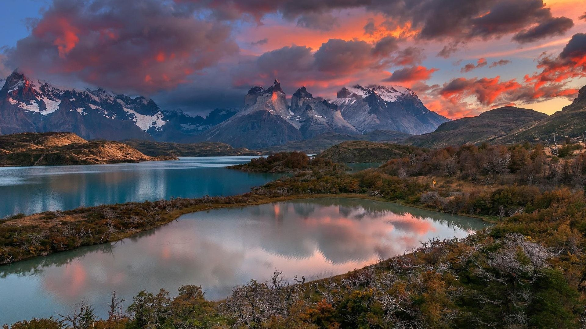 Res: 1920x1080, Lakes - Mountains Lake Clouds Nature Free Images For Desktop for HD 16:9  High