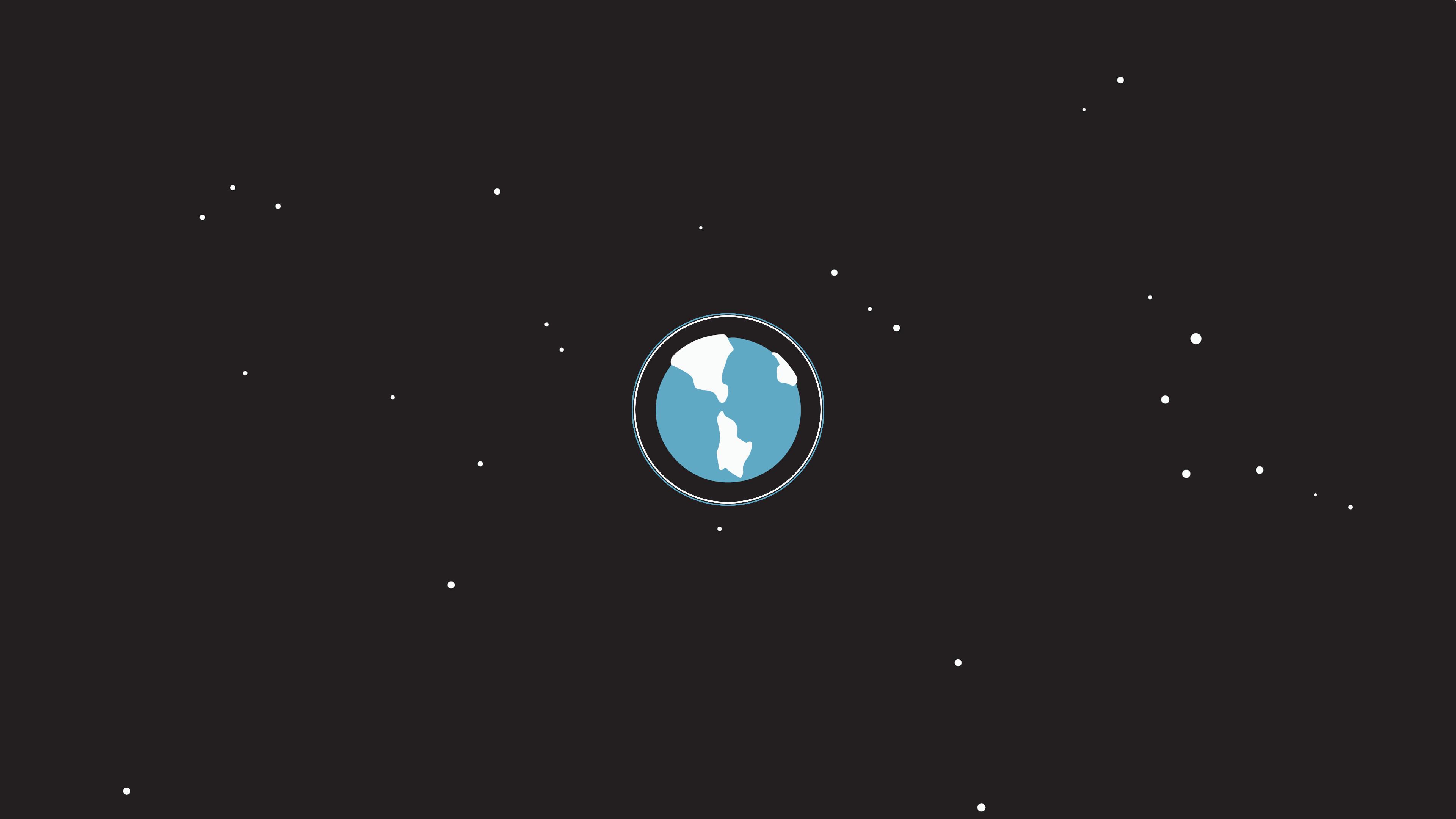 Res: 3840x2160, Minimal Earth [16:9] [3640x2160] ...