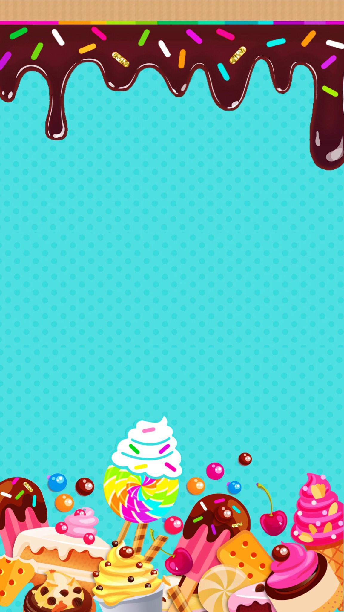 Res: 1152x2048, Dropbox - Sweet Treats. Food WallpaperKawaii WallpaperWallpaper Backgrounds Cute ...