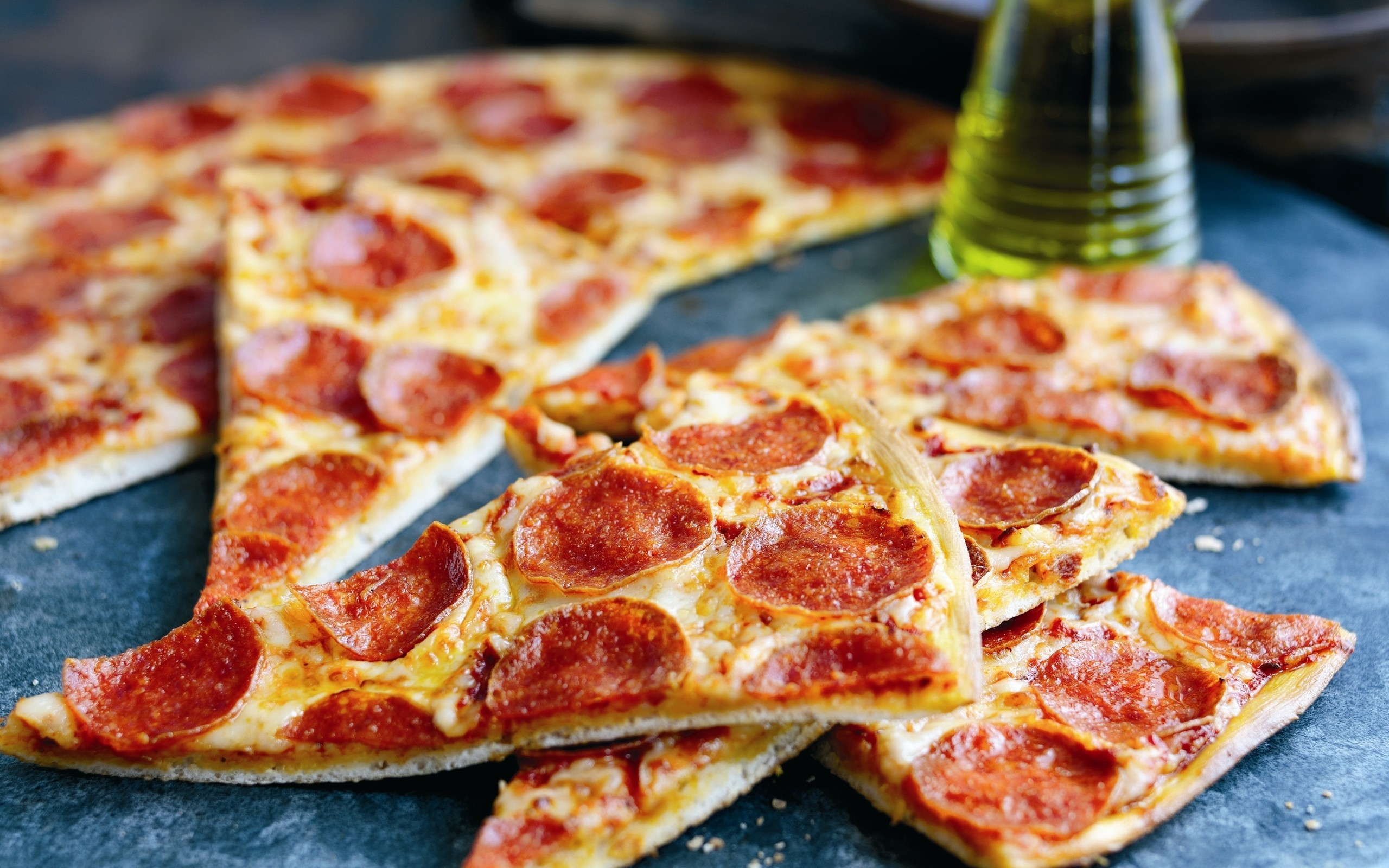 Res: 2560x1600, Pepperoni Pizza Wallpapers Free