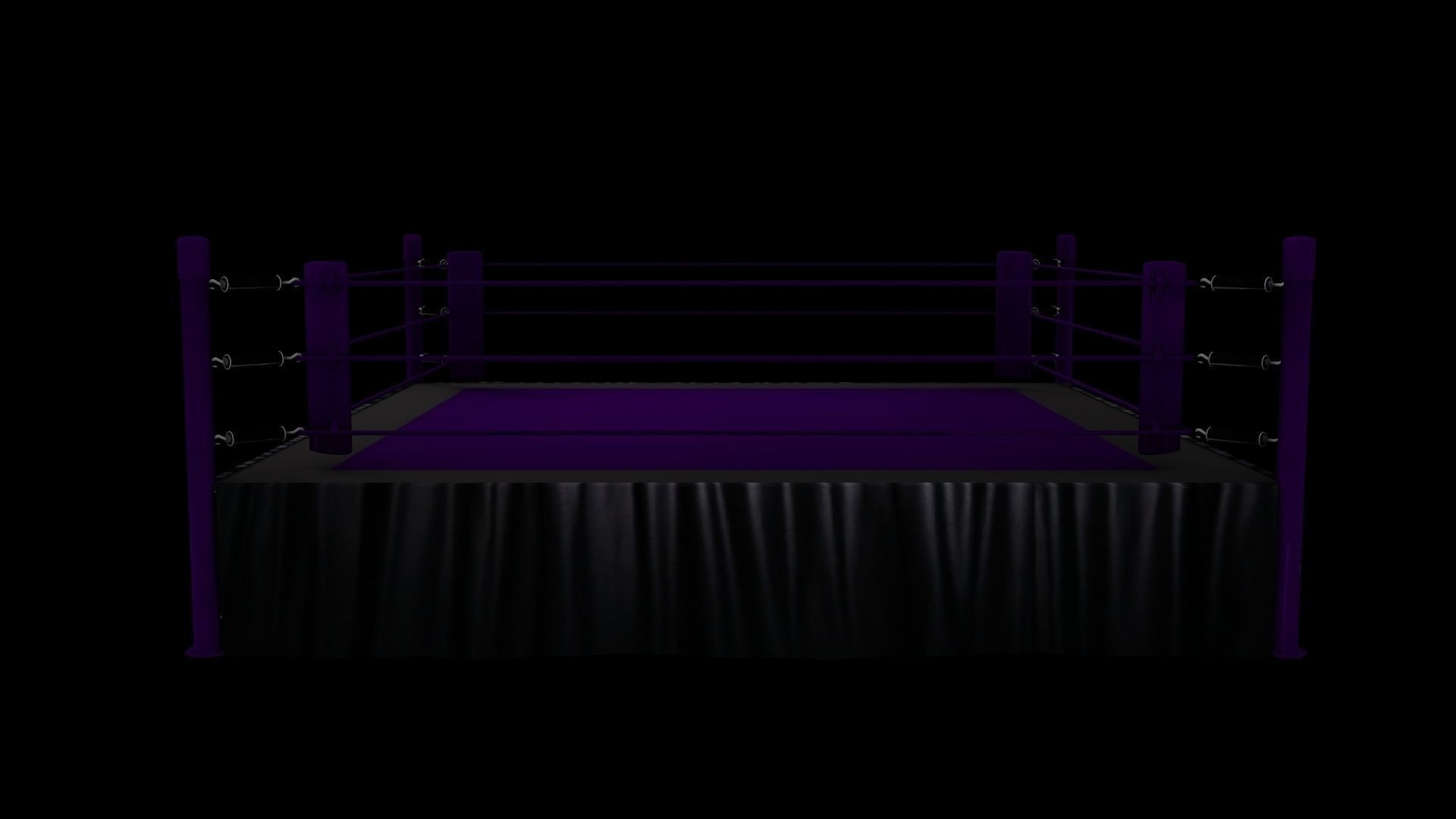 Res: 1920x1080, wrestling ring 3d model obj 3ds fbx blend dae mtl 1 ...