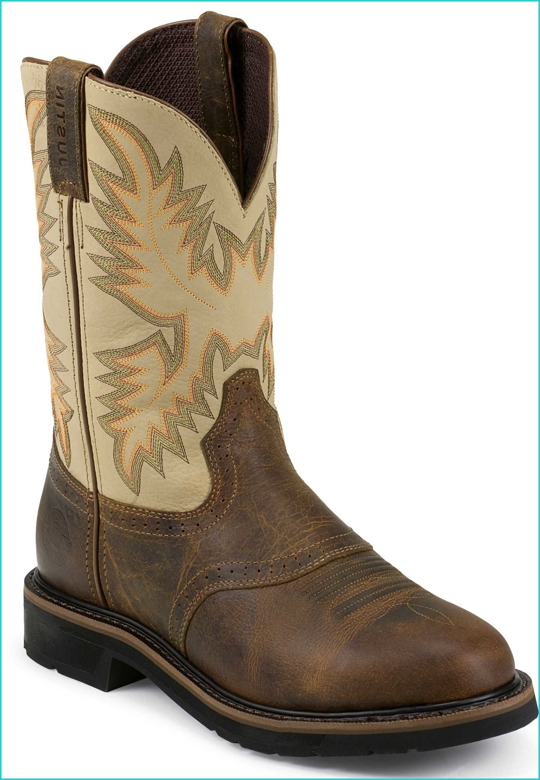 Res: 1800x2596, Justin WK4660 Waxy Brown Wide Round Workboot