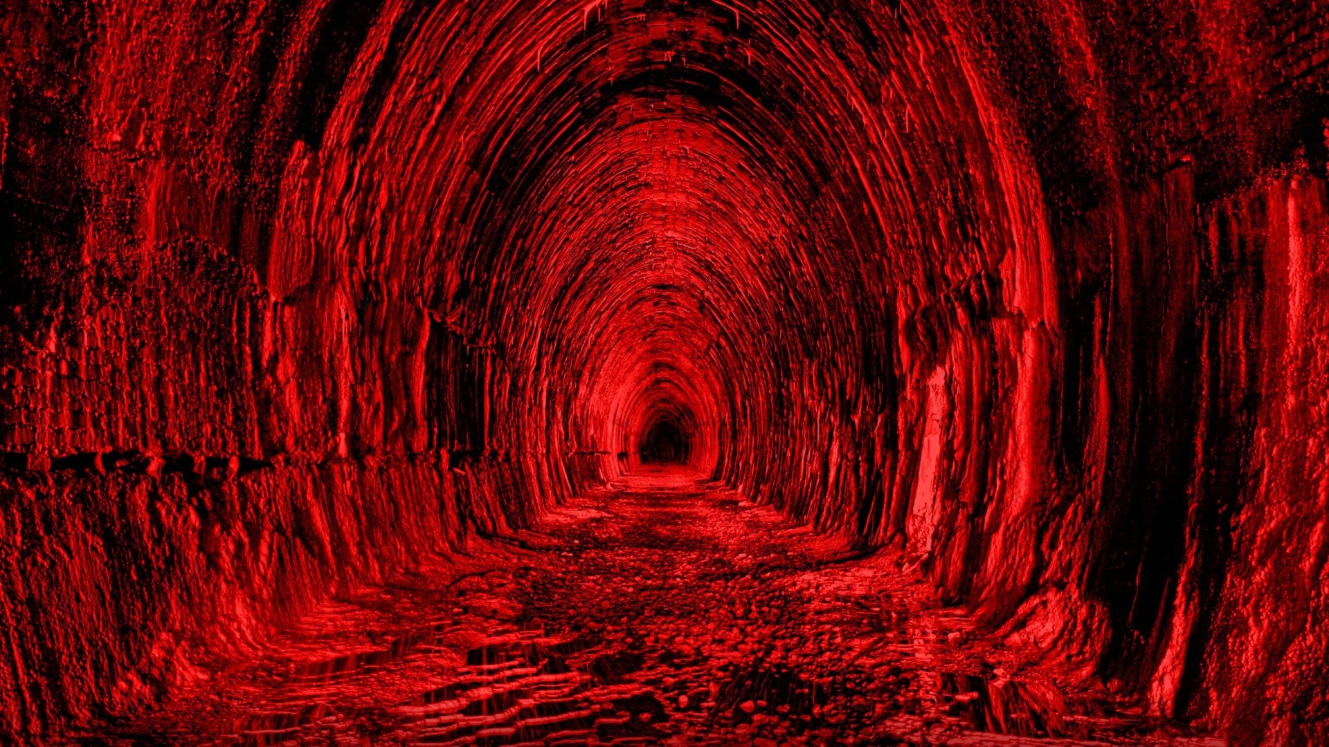 Res: 1920x1080, Download now full hd wallpaper tunnel infinity dark red ...