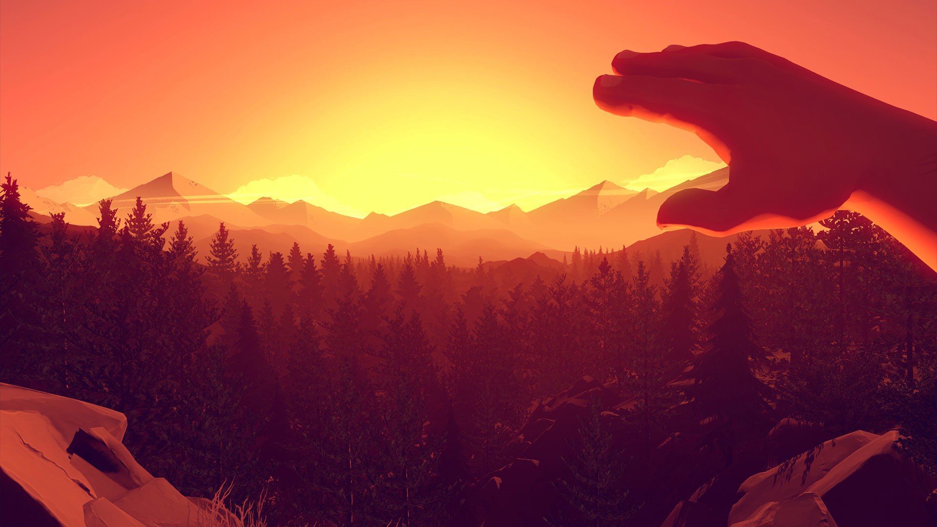 Res: 1920x1080, Firewatch 4K Wallpaper | Firewatch 1080p Wallpaper ...