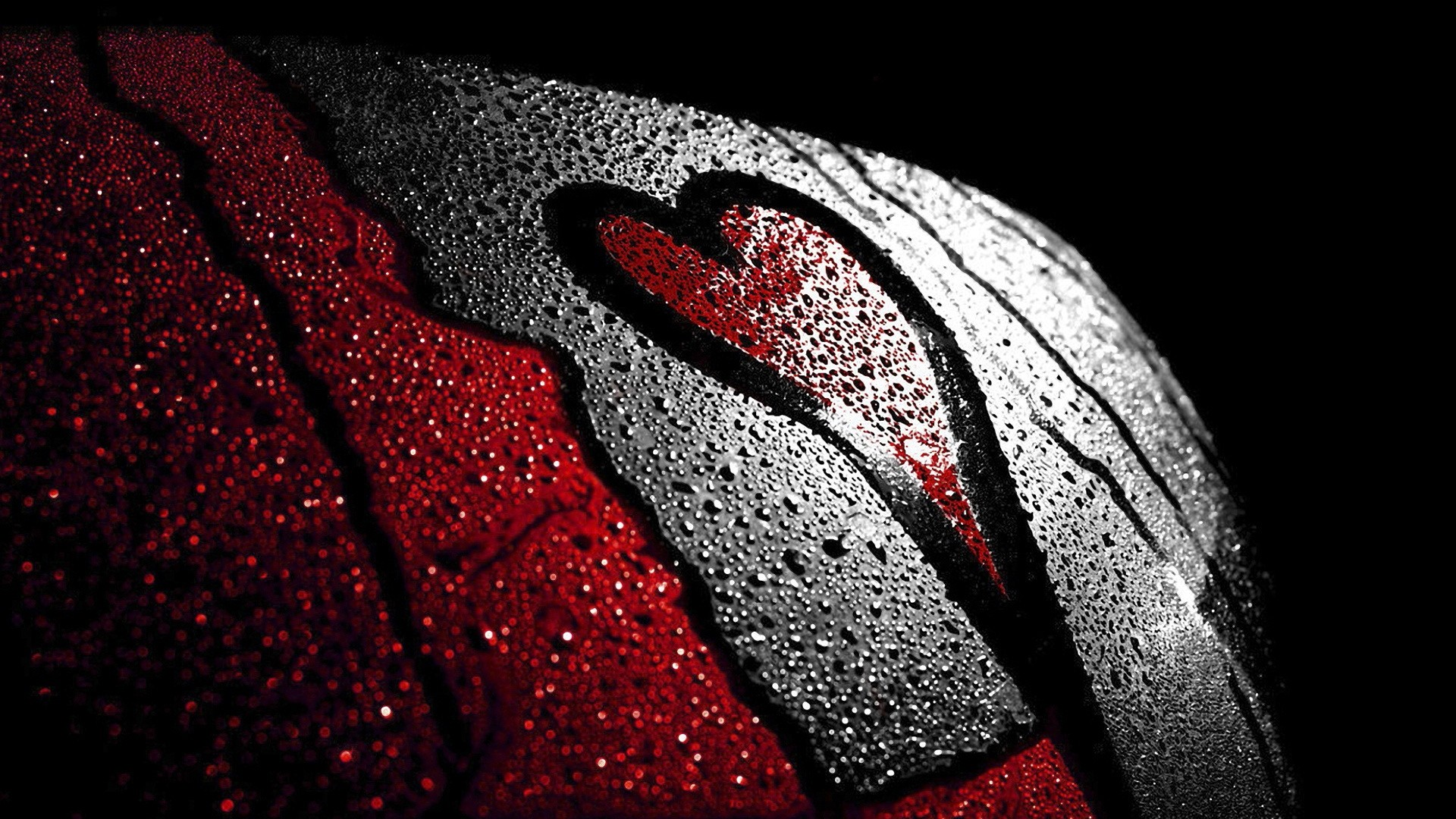Res: 1920x1080, Love Red Black Image HD Wallpaper