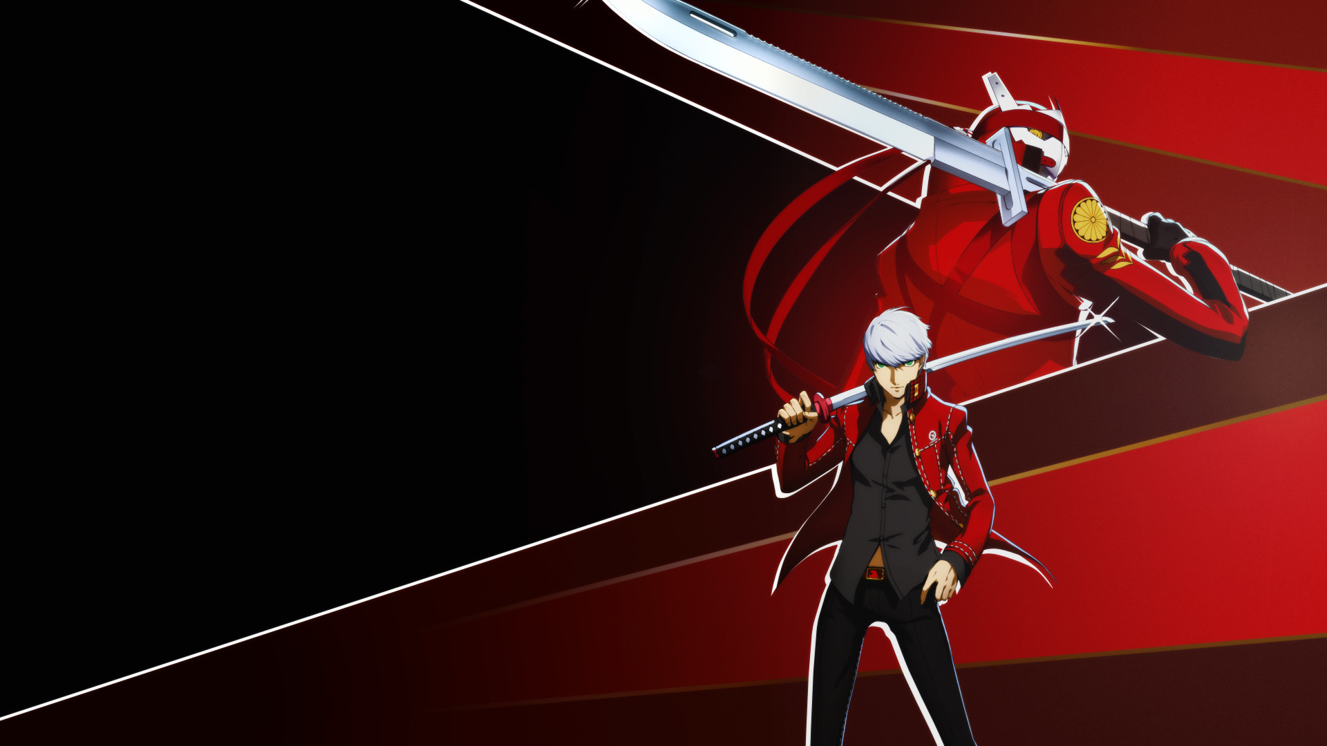 Res: 1920x1080, ... [RED] Yu Narukami and Izanagi Wallpaper 1080p by blubxer