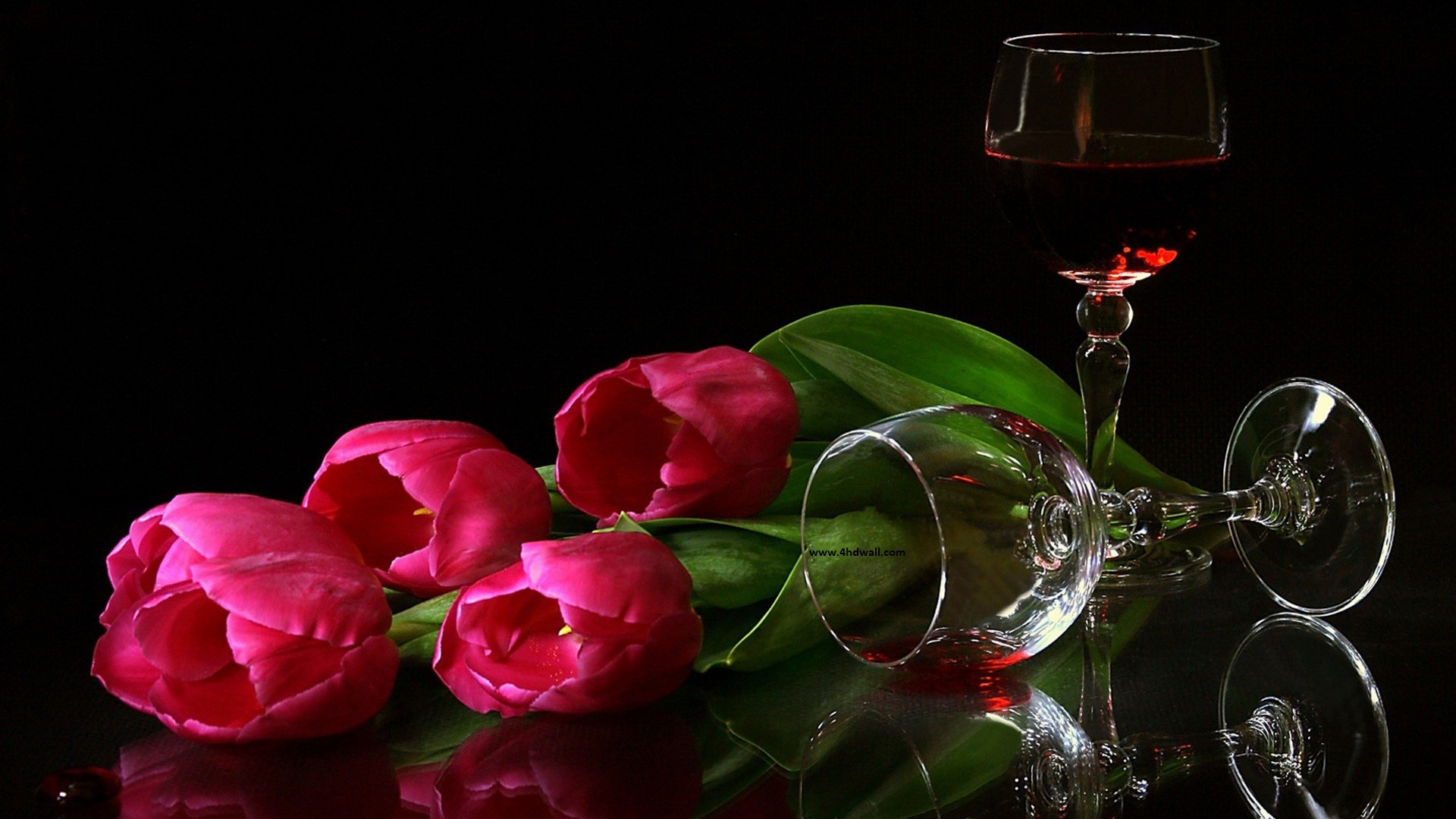 Res: 1920x1080, red flowers hd wallpapers HD Wallpaper