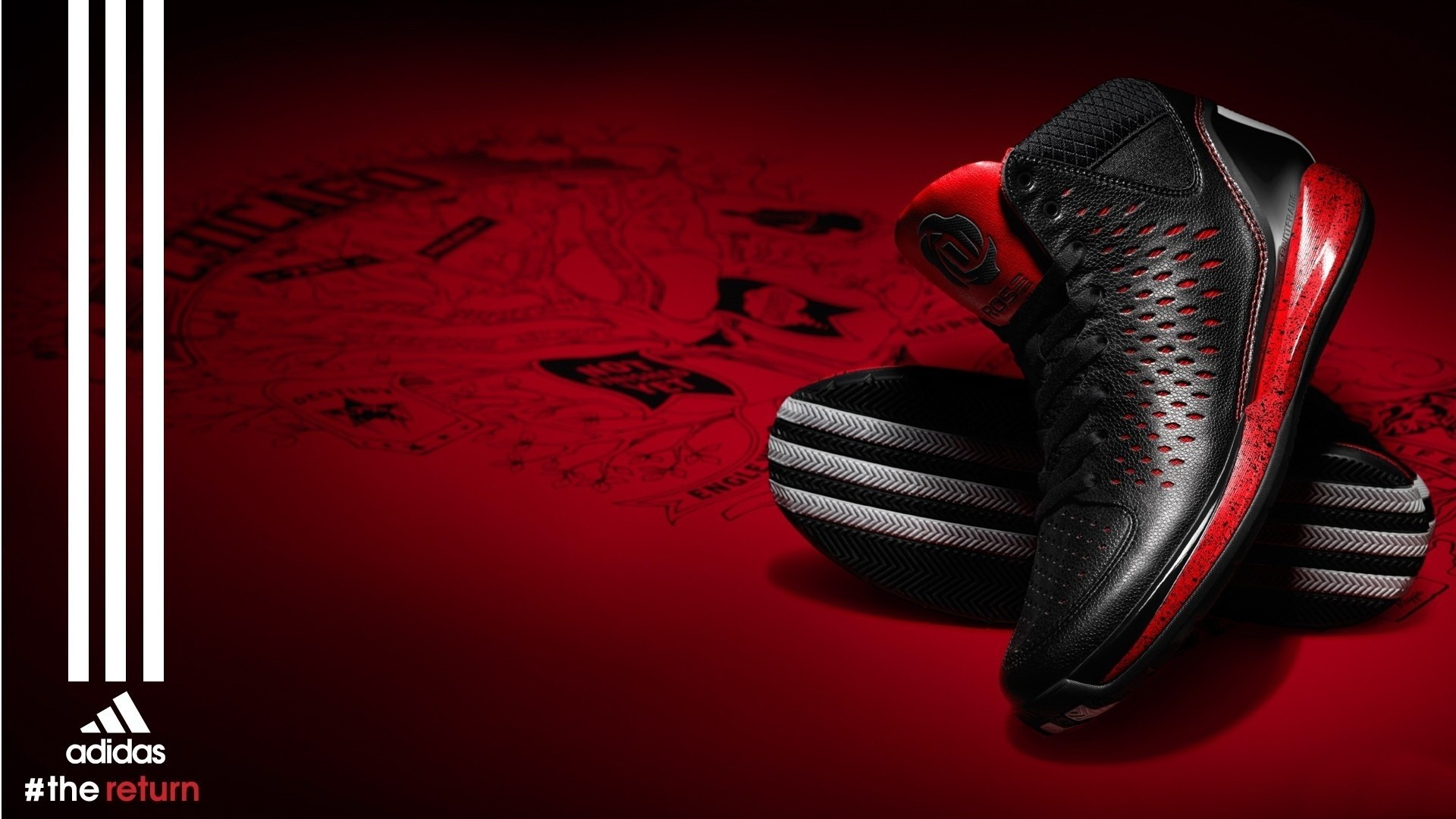 Res: 1920x1080, Red And Black Adidas Wallpapers 1080p Is Cool Wallpapers