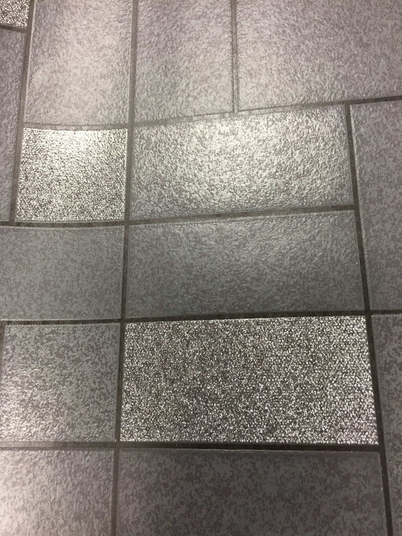 Res: 1600x2133, Glitter Tile Wallpaper Sparkle Washable Vinyl Kitchen Bathroom Black Silver