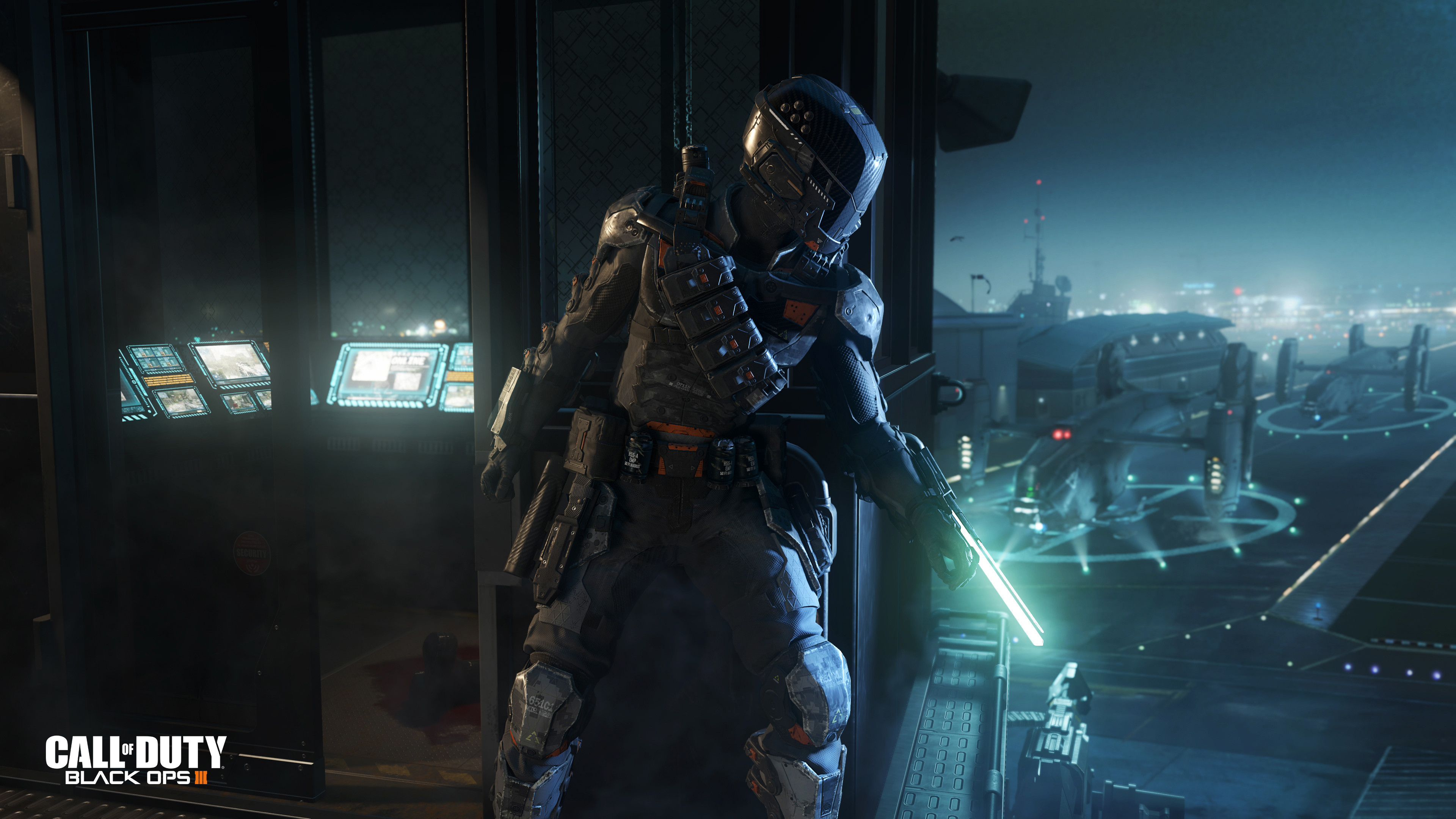 Res: 3840x2160, Call of Duty Black Ops 3 Spectre