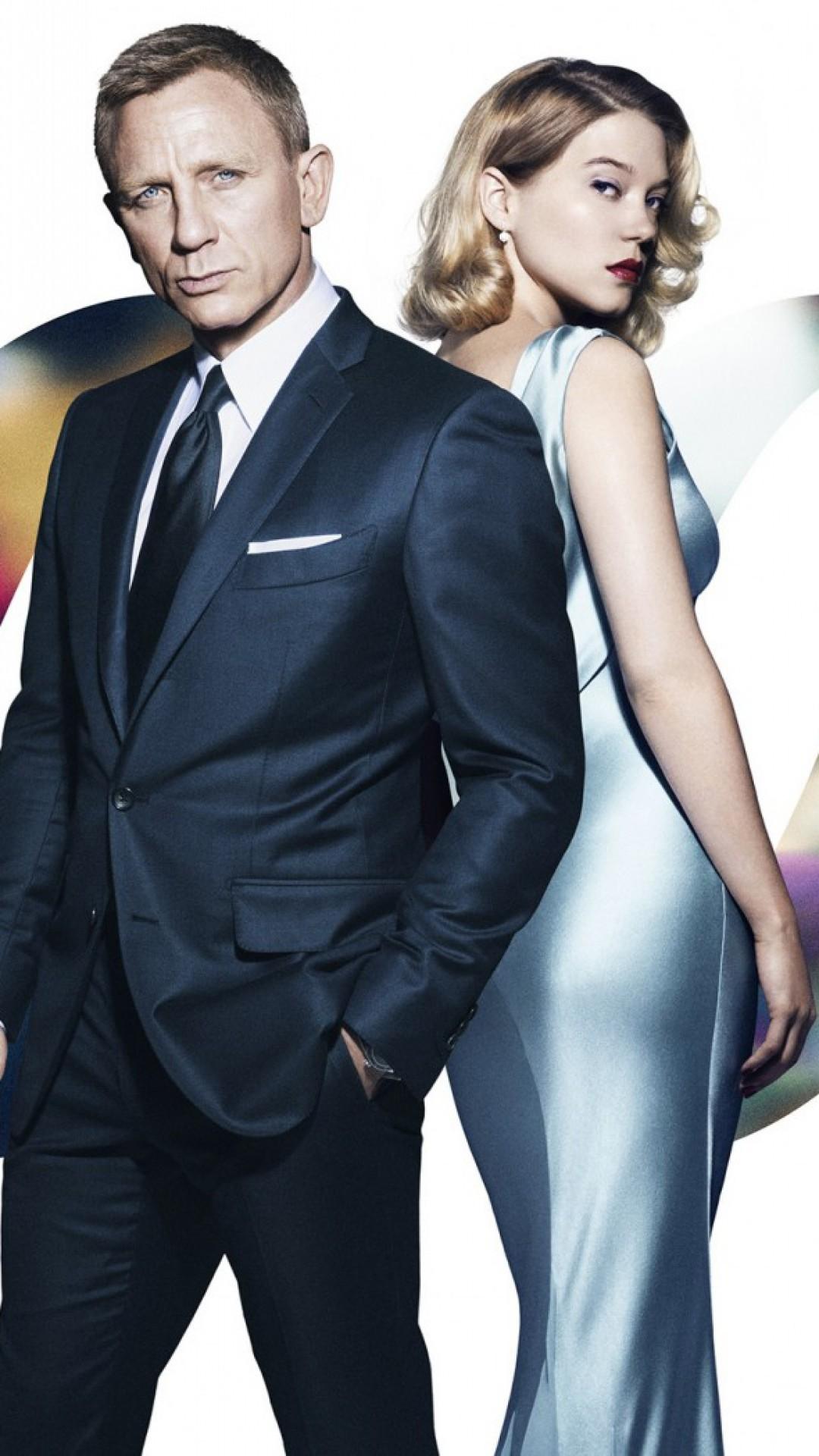 Res: 1080x1920, James Bond Spectre wallpapers.  spectre_james_bond_daniel_craig_lea_seydoux_madeleine_swann_104598_
