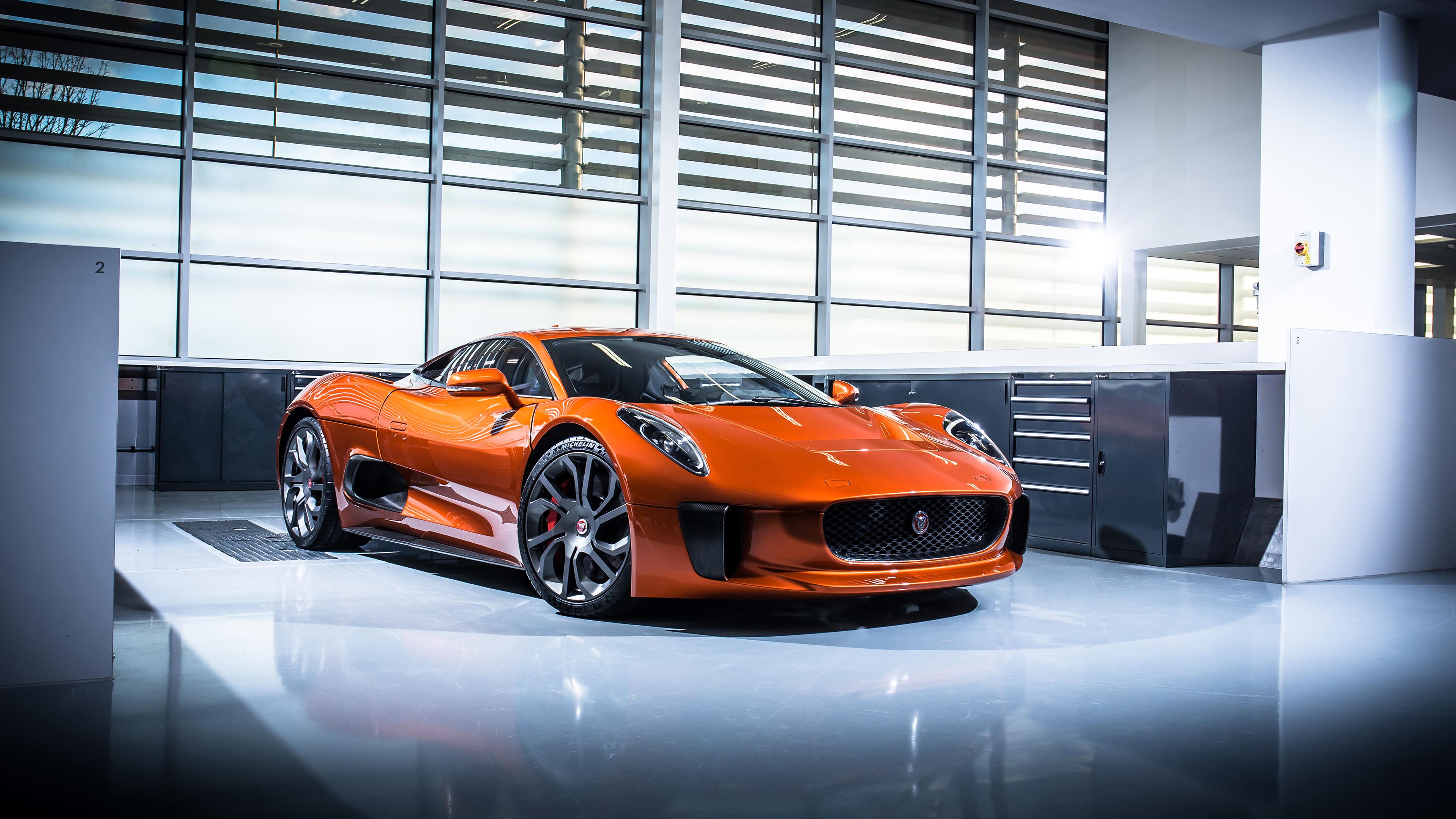 Res: 3840x2160, 2015 Jaguar C X75 James Bond 007 Spectre