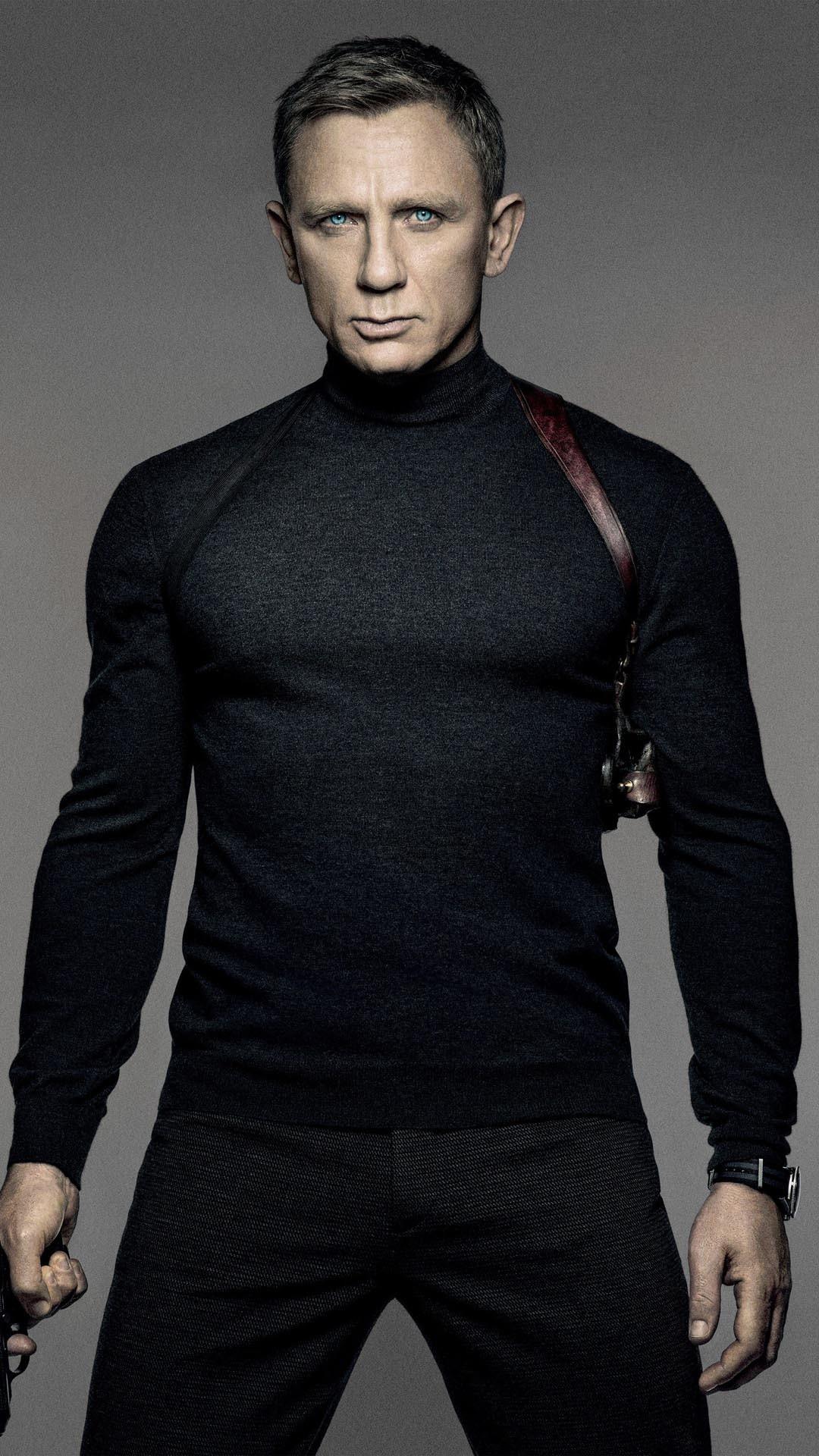 Res: 1080x1920, Daniel Craig Spectre 007 James Bond Android Wallpaper ...