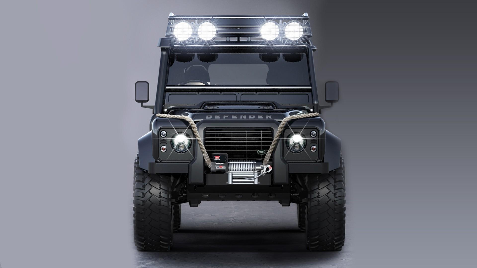 Res: 1920x1080, Land Rover Defender 2015 James Bond SPECTRE Villain Car Wallpaper