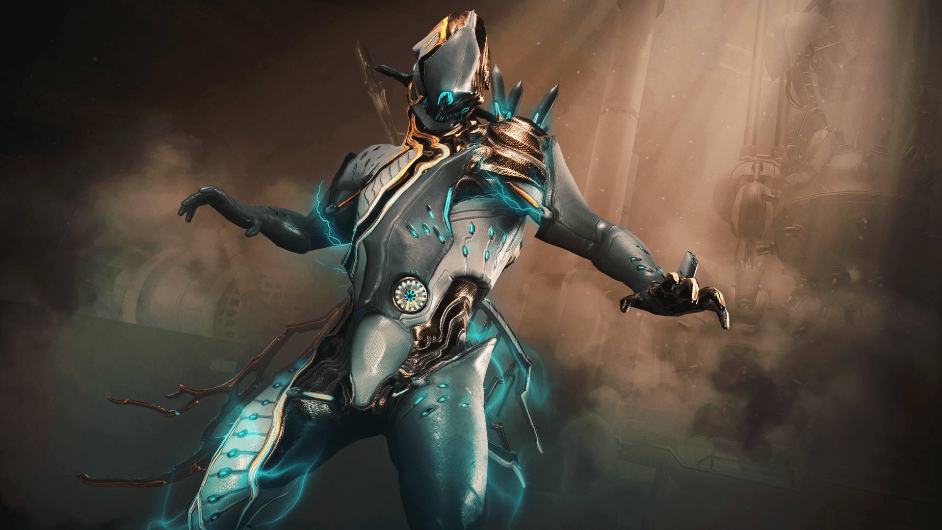 Res: 1920x1080, With this much power flowing through a single Warframe, it's no wonder that  the Volt Proto Skin looks like Ballas' weird science gone haywire!