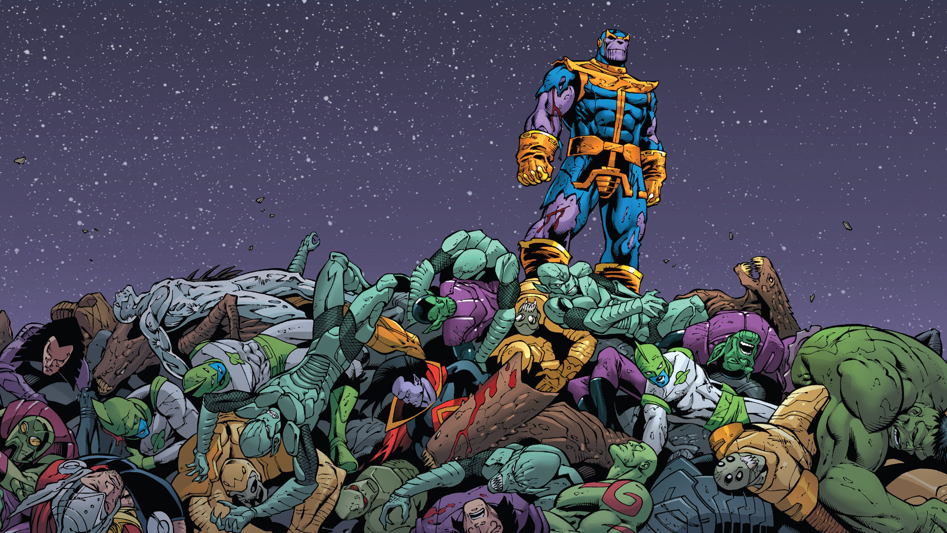 Res: 1920x1080, Thanos images
