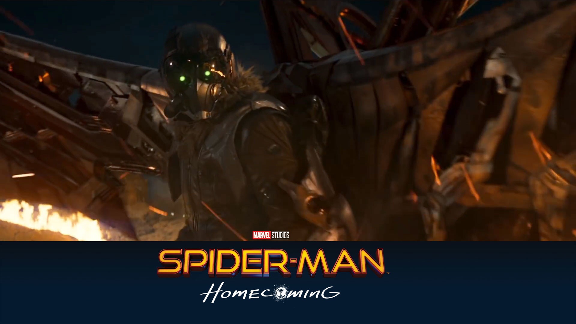 Res: 1920x1080, ... Spider-Man-Homecoming-Villain-Wallpapers-HD-1920-x- ...
