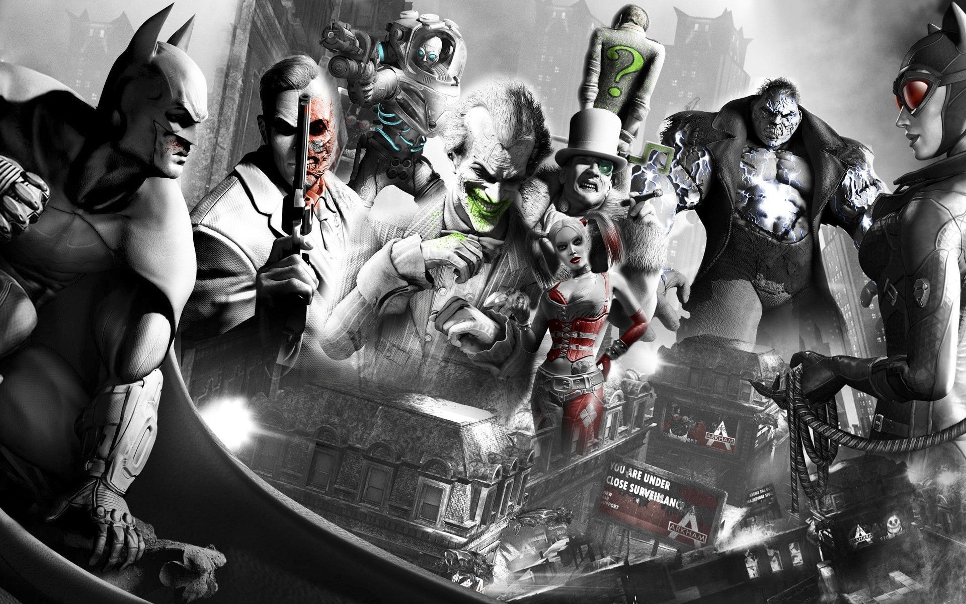 Res: 1920x1200, Collection of Batman Villains Wallpaper, M.F. Wallpapers