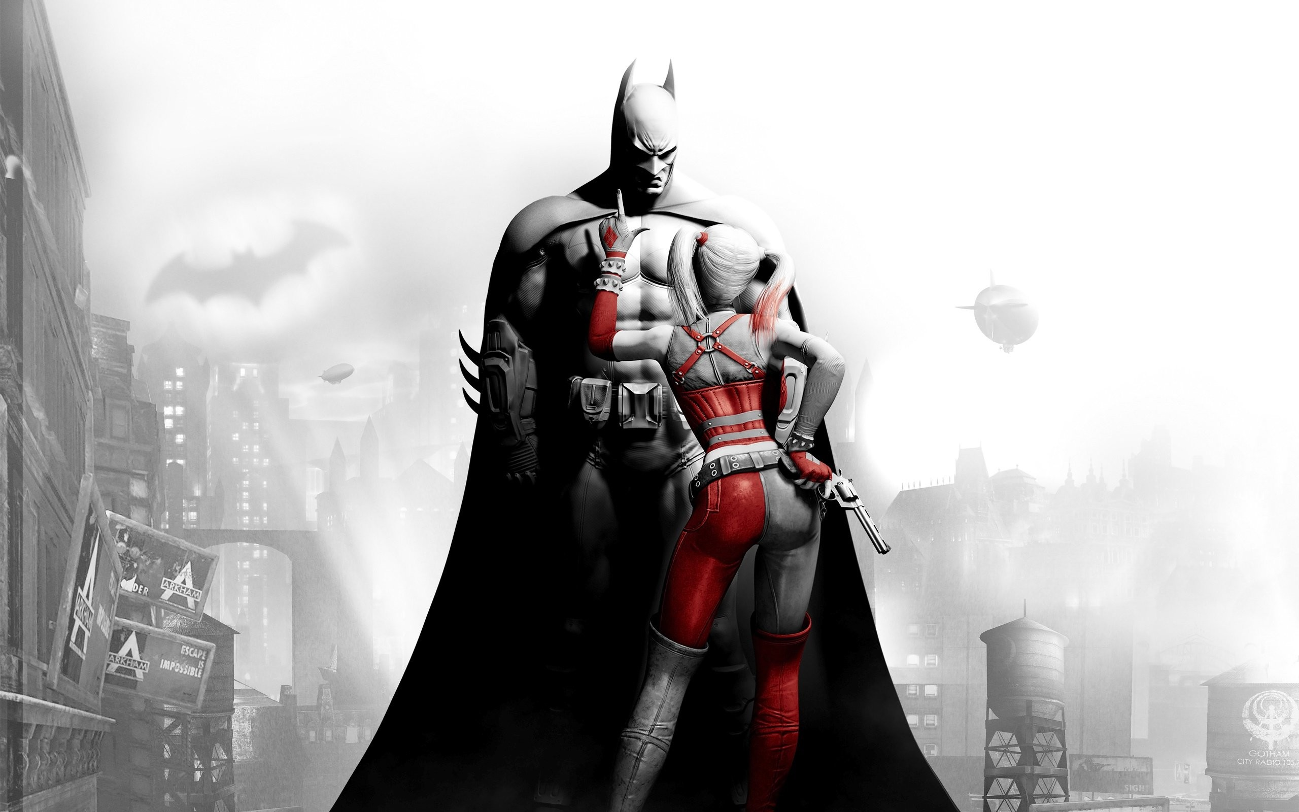 Res: 2560x1600, Wallpaper zu Batman: Arkham City herunterladen