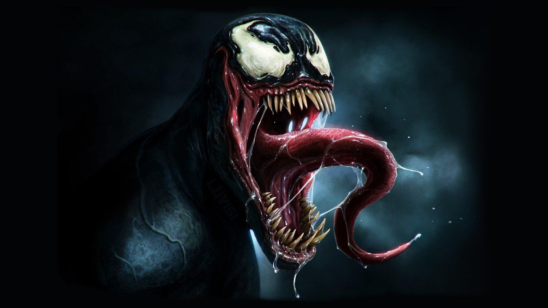 Res: 1920x1080, Venom Tongue Supervillain wallpaper available as Venom Tongue Supervillain  Android wallpaper, Venom Tongue Supervillain iPhone wallpaper and high  definition ...