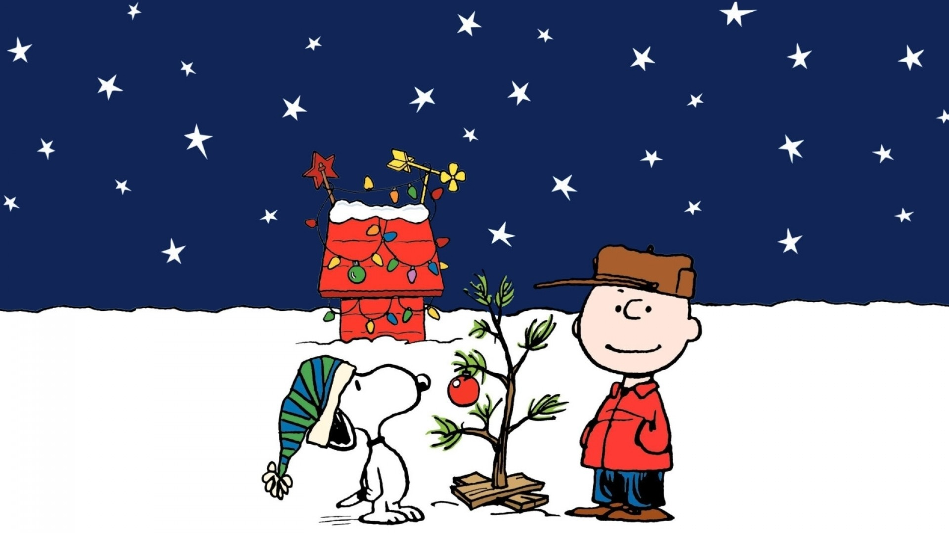 Res: 1920x1080, free-peanuts-christmas-desktop-wallpaper
